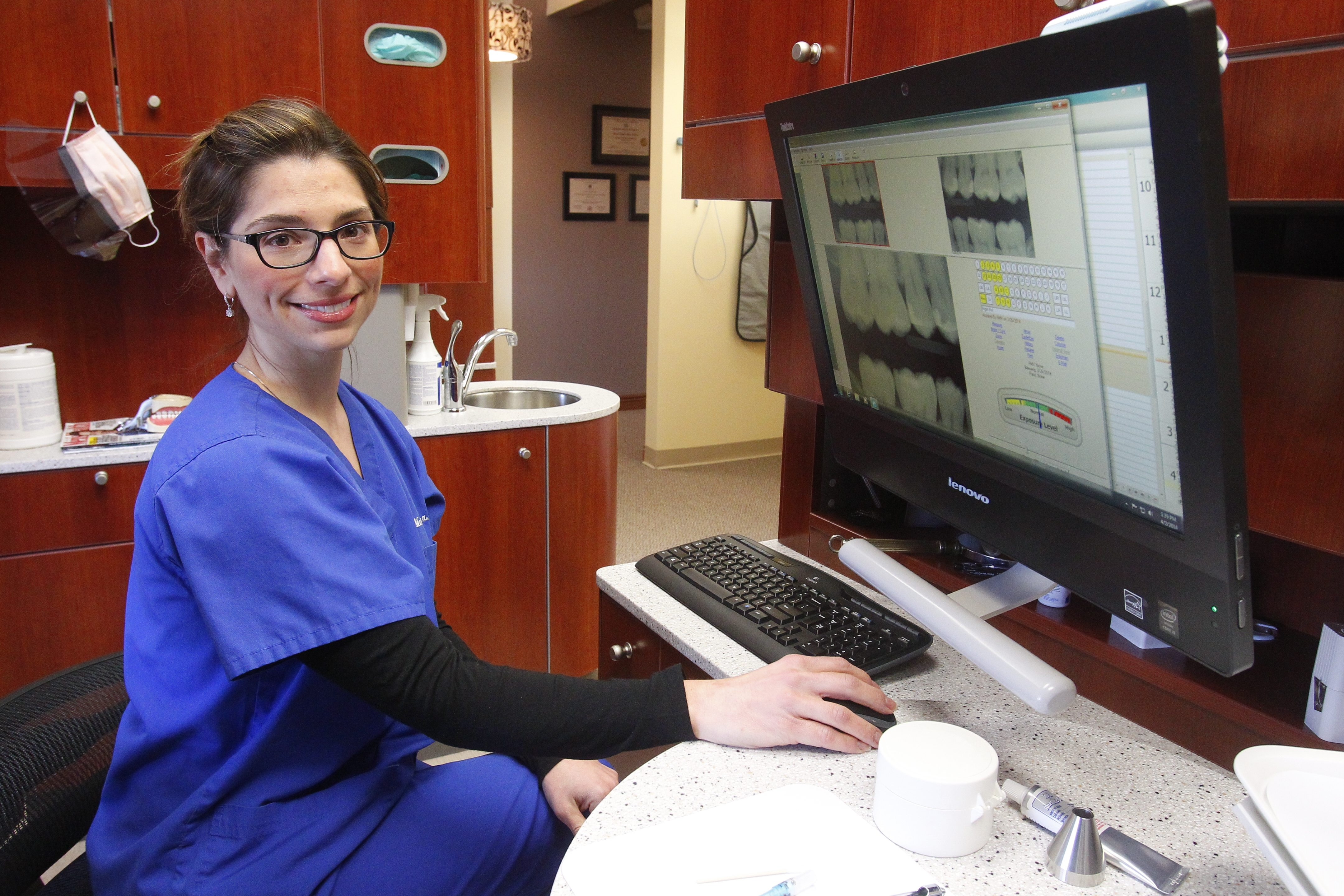 Dr. Graci Mara Bax, a 1996 graduate of  Lewiston-Porter High School, has opened her own office, Graci Family Dentistry, in Mount St. Mary's Medical Arts Building.