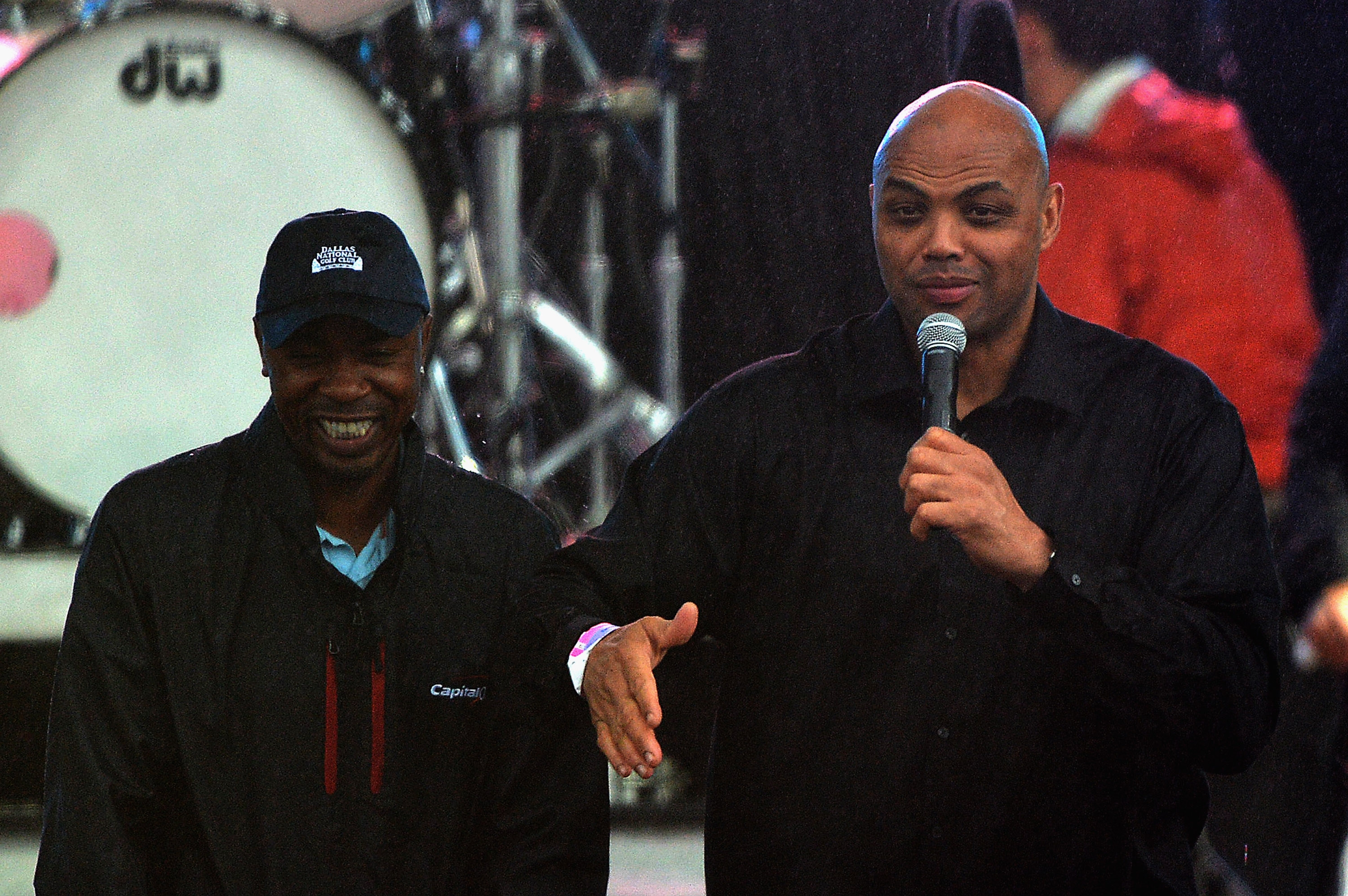Charles Barkley is the linchpin of a witty cast on TNT's NBA studio show.