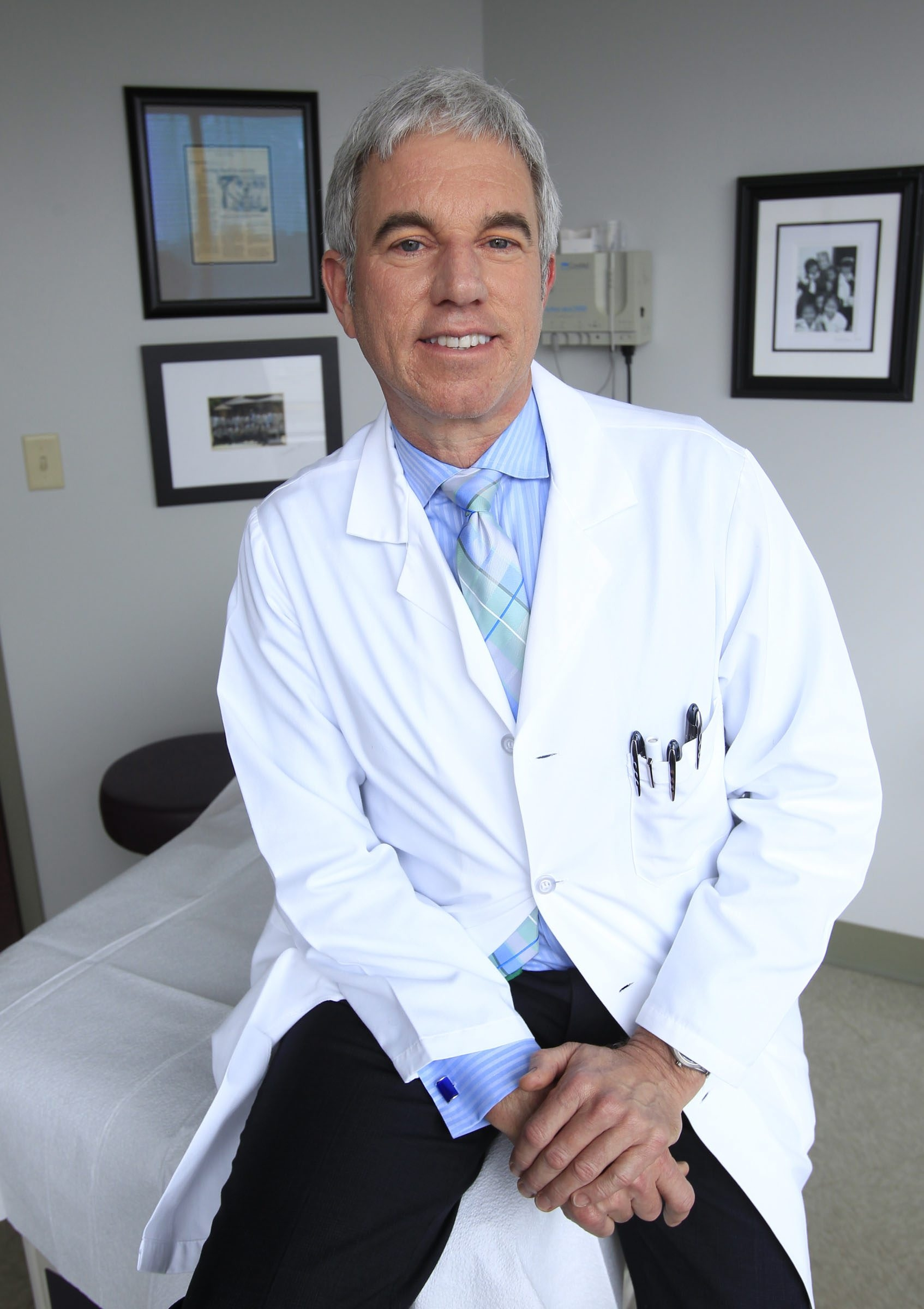 """""""There's no question there's a genetic connection with psoriasis, and it may be that if you have certain genes and if you have a certain stimulus that you're going to develop psoriasis.""""  – Dr. Robert Kalb"""