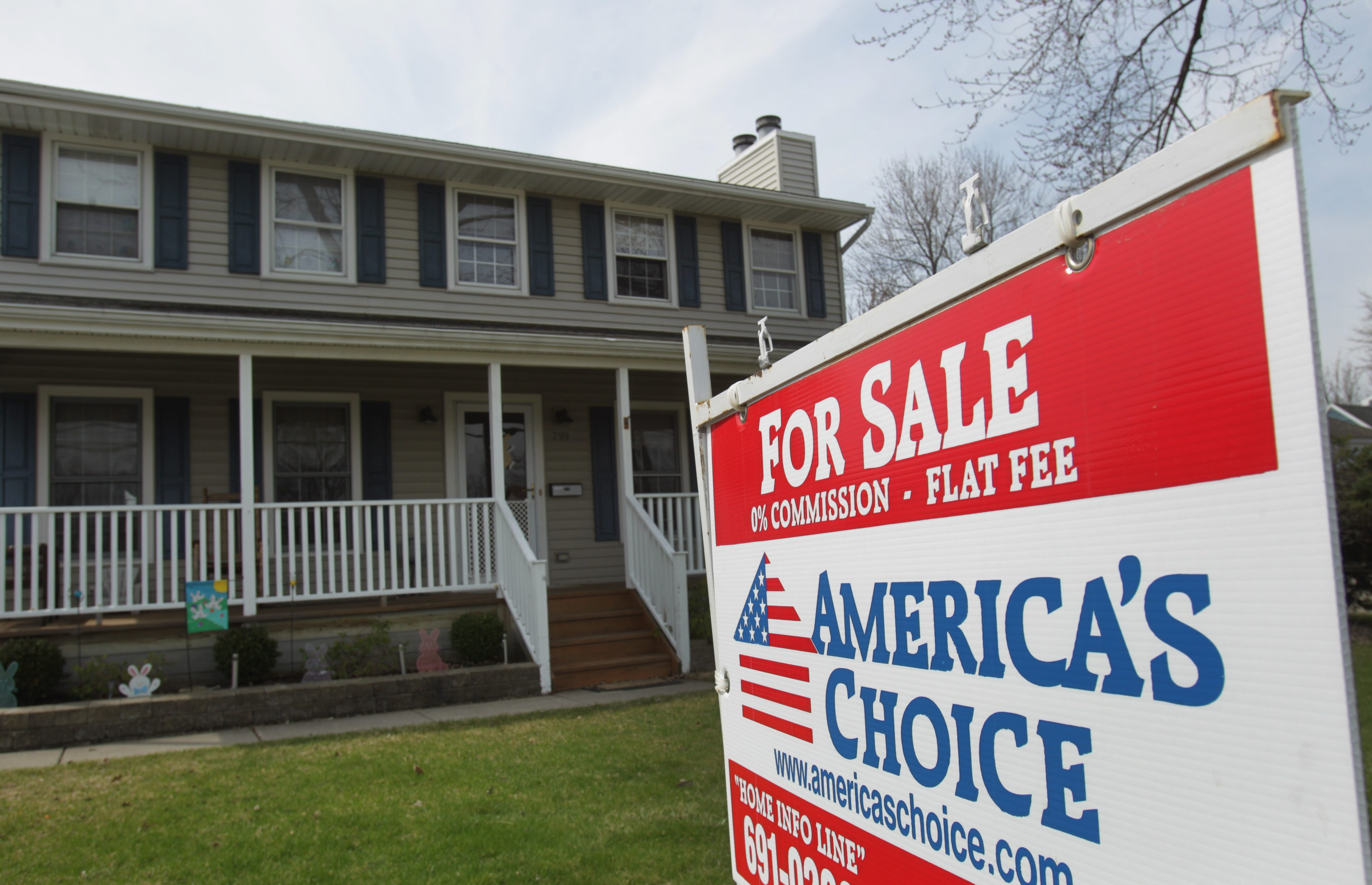 The housing market got off to a slower start this year because of exceptionally cold weather.