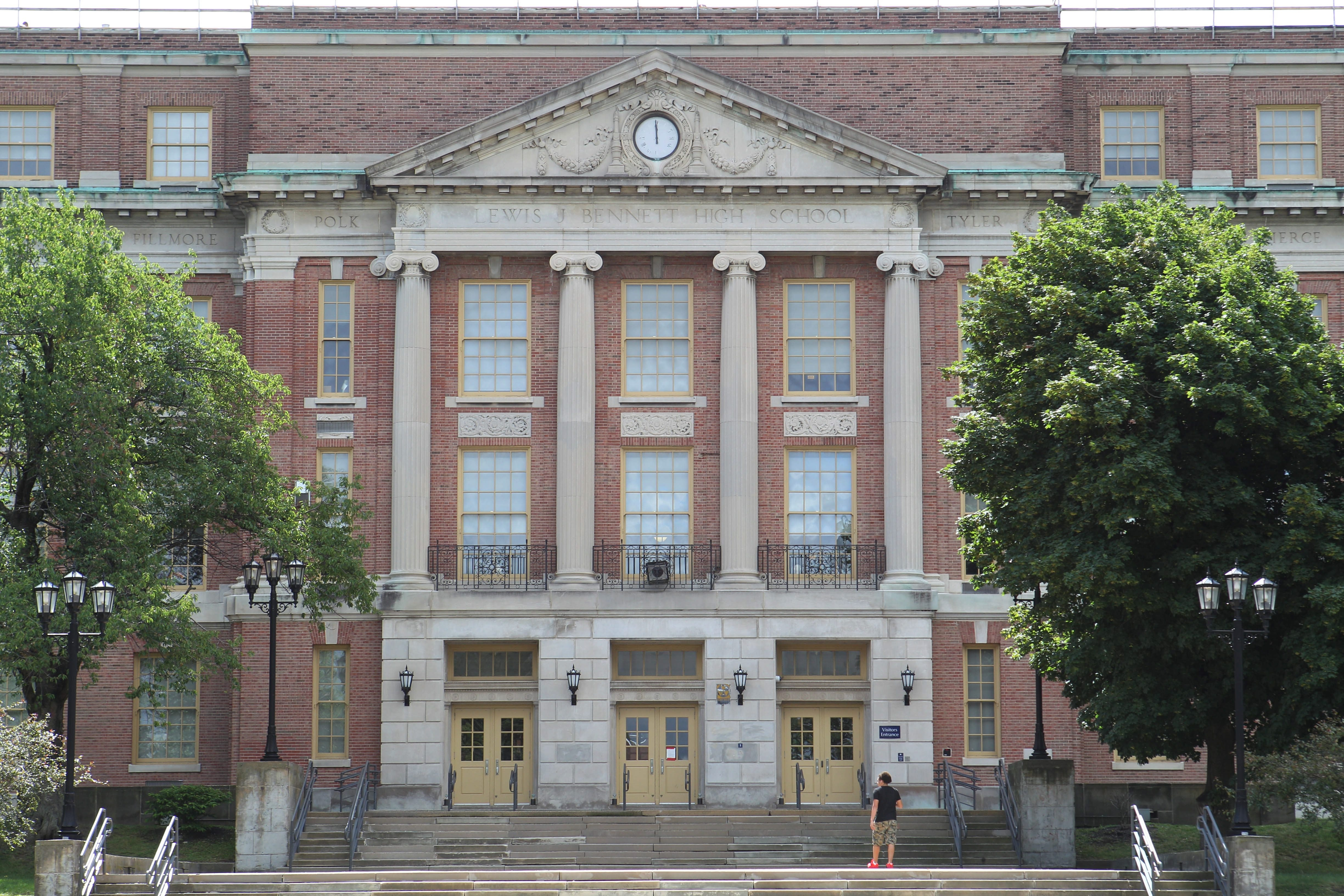The visionary plan to turn Bennett High School into a school for science and technology is on hold because the school district falied to come up with a workable plan. (Buffalo News file photo)