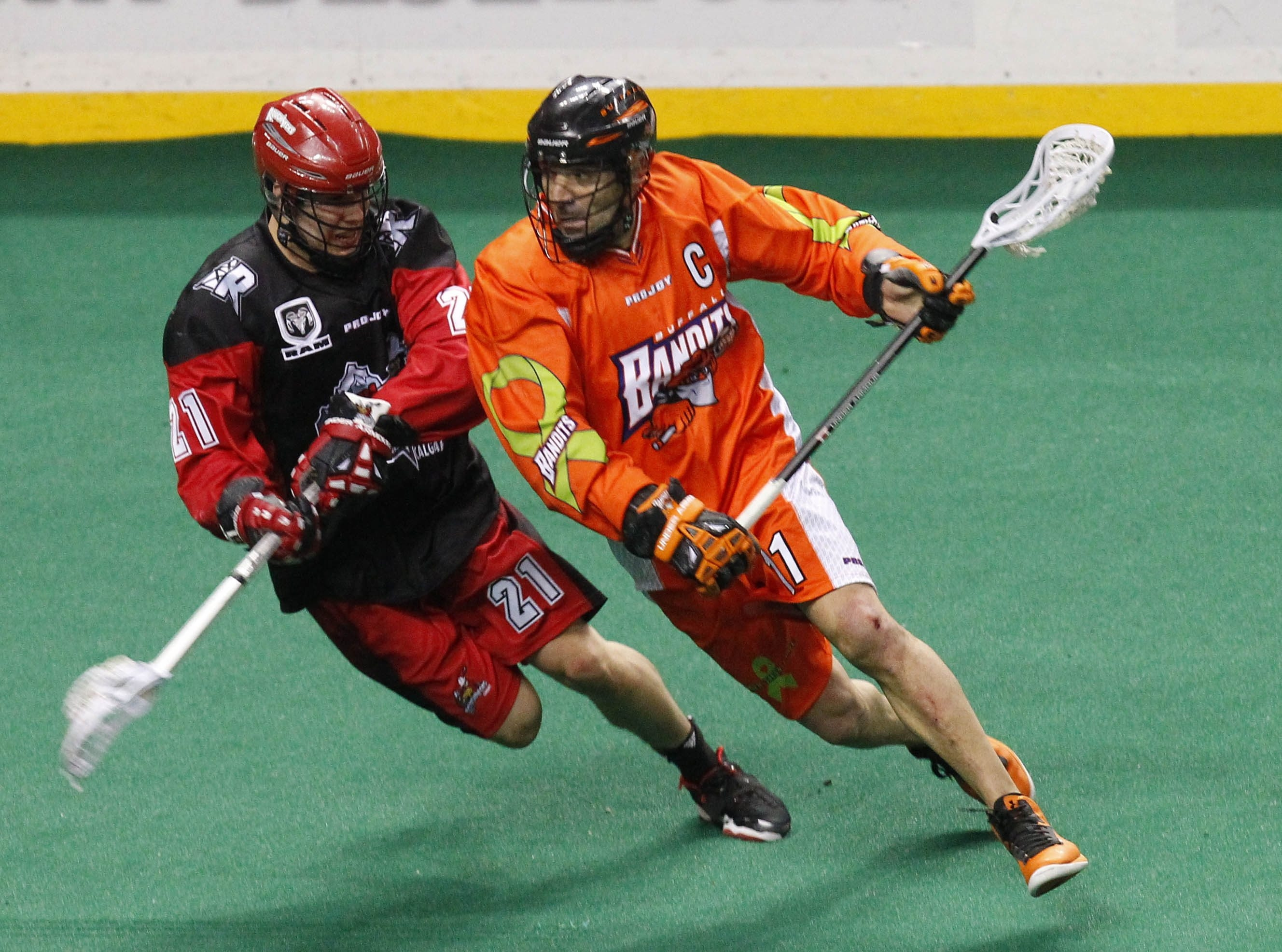 """Buffalo Bandits' John Tavares says at age 45, """"the writing is on the wall that you can't go much farther."""""""