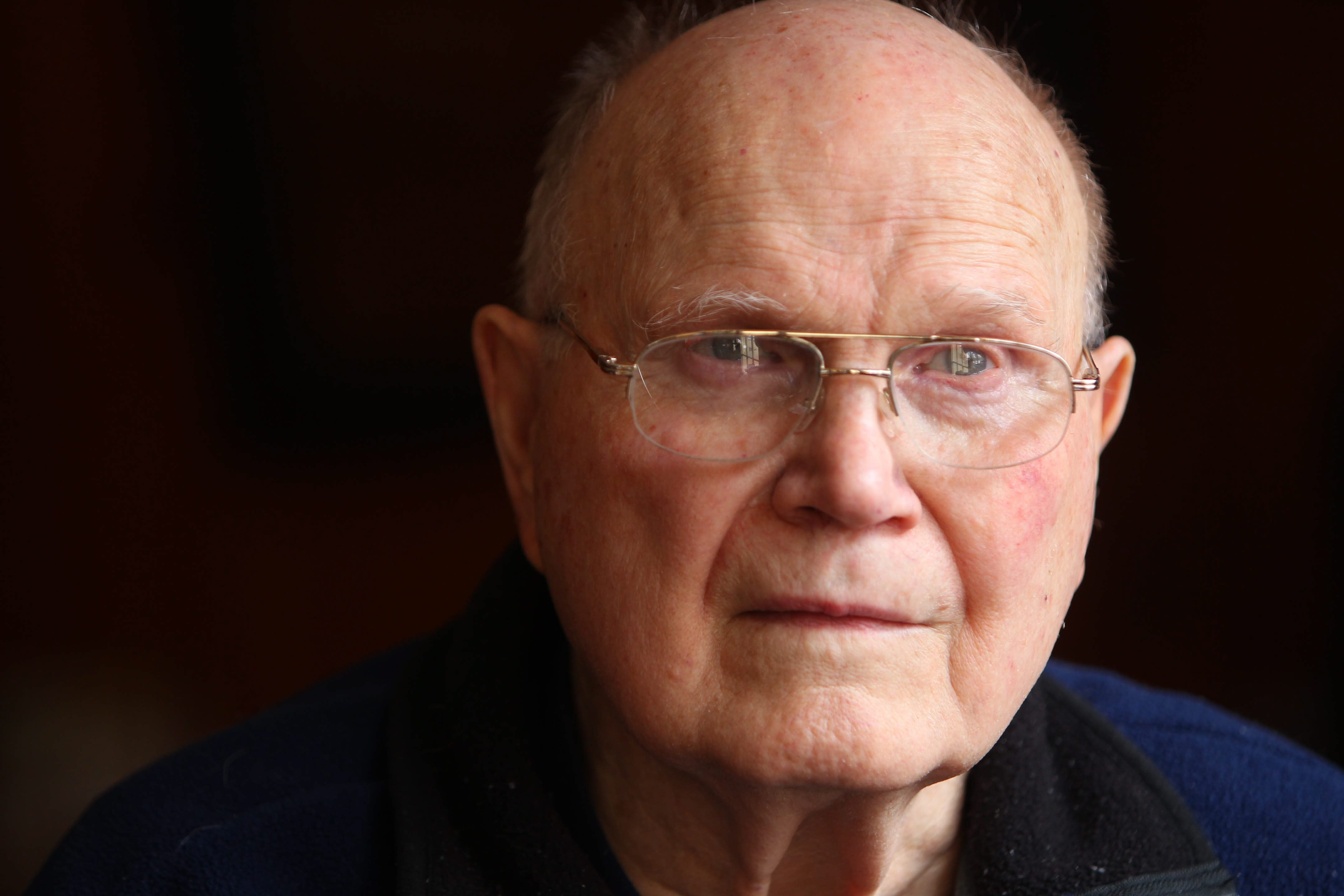 World War II Army veteran Robert W. Lally recounts the actions he took to get his sergeant to safety.