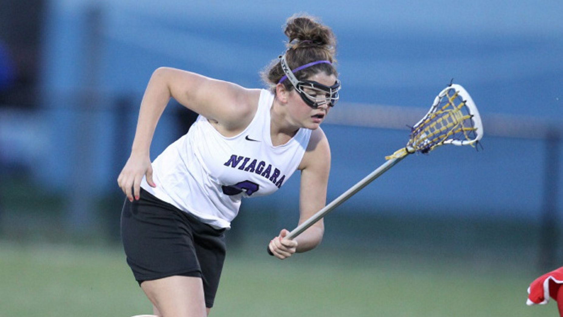 Carrie-Jo Farrugia leads Niagara with determination and hard work.
