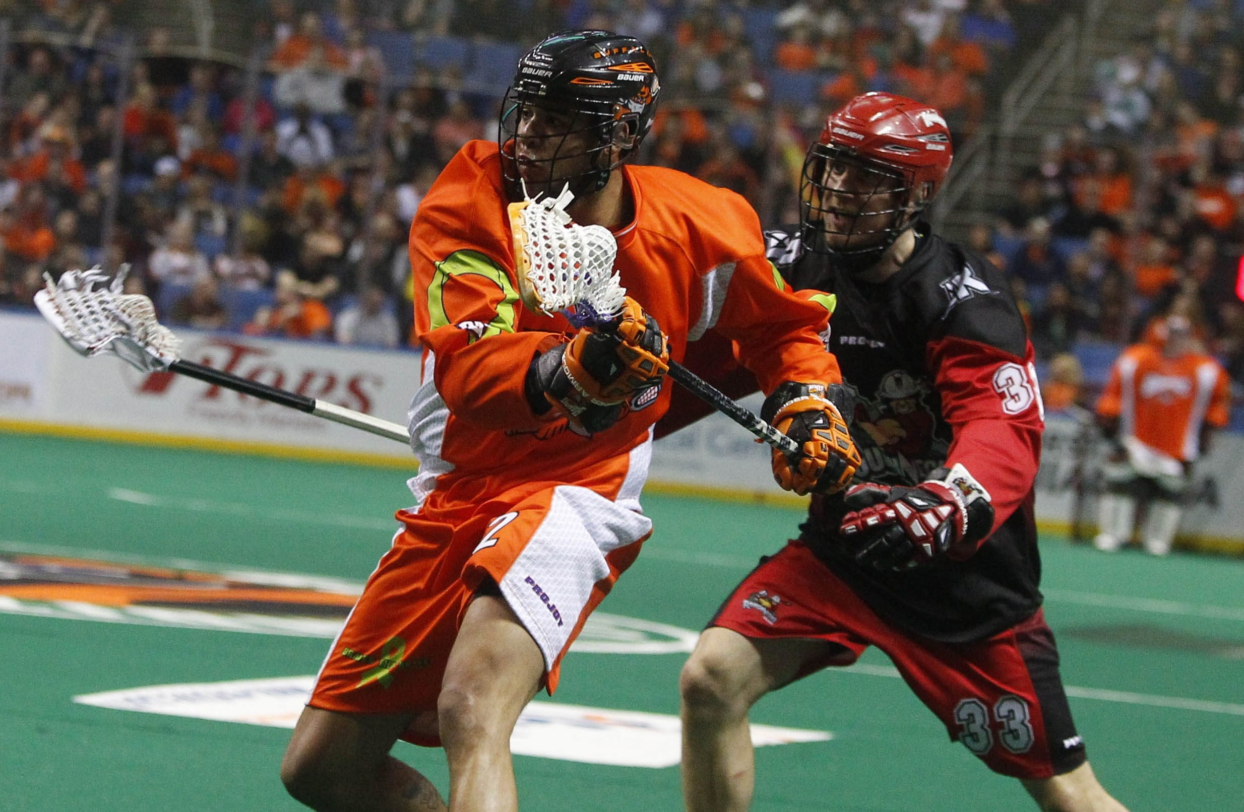 Dhane Smith (92) is once again one of the top point producers for the Bandits.