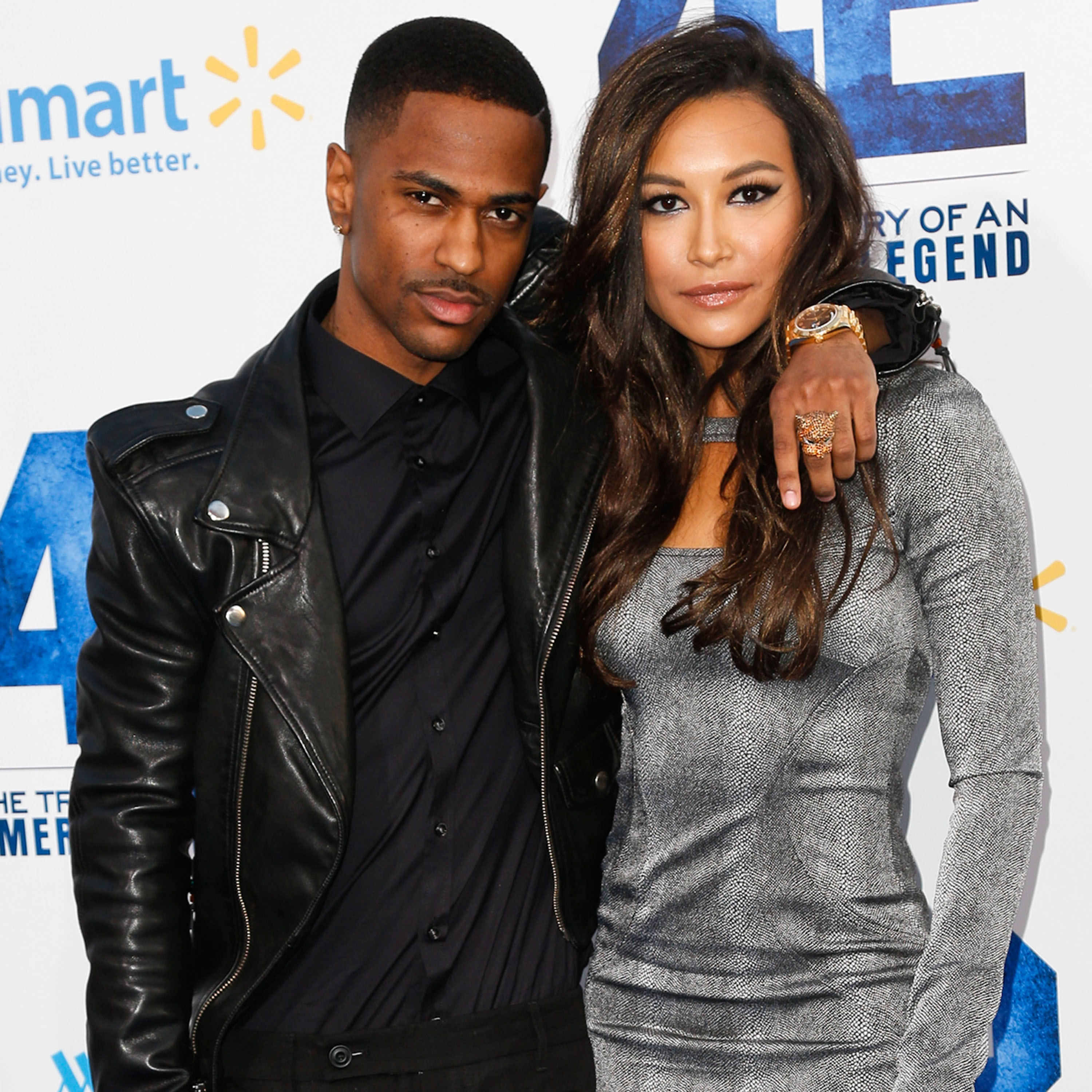 Big Sean and Naya Rivera, pictured at a Hollywood premiere in 2013, have ended their engagement.