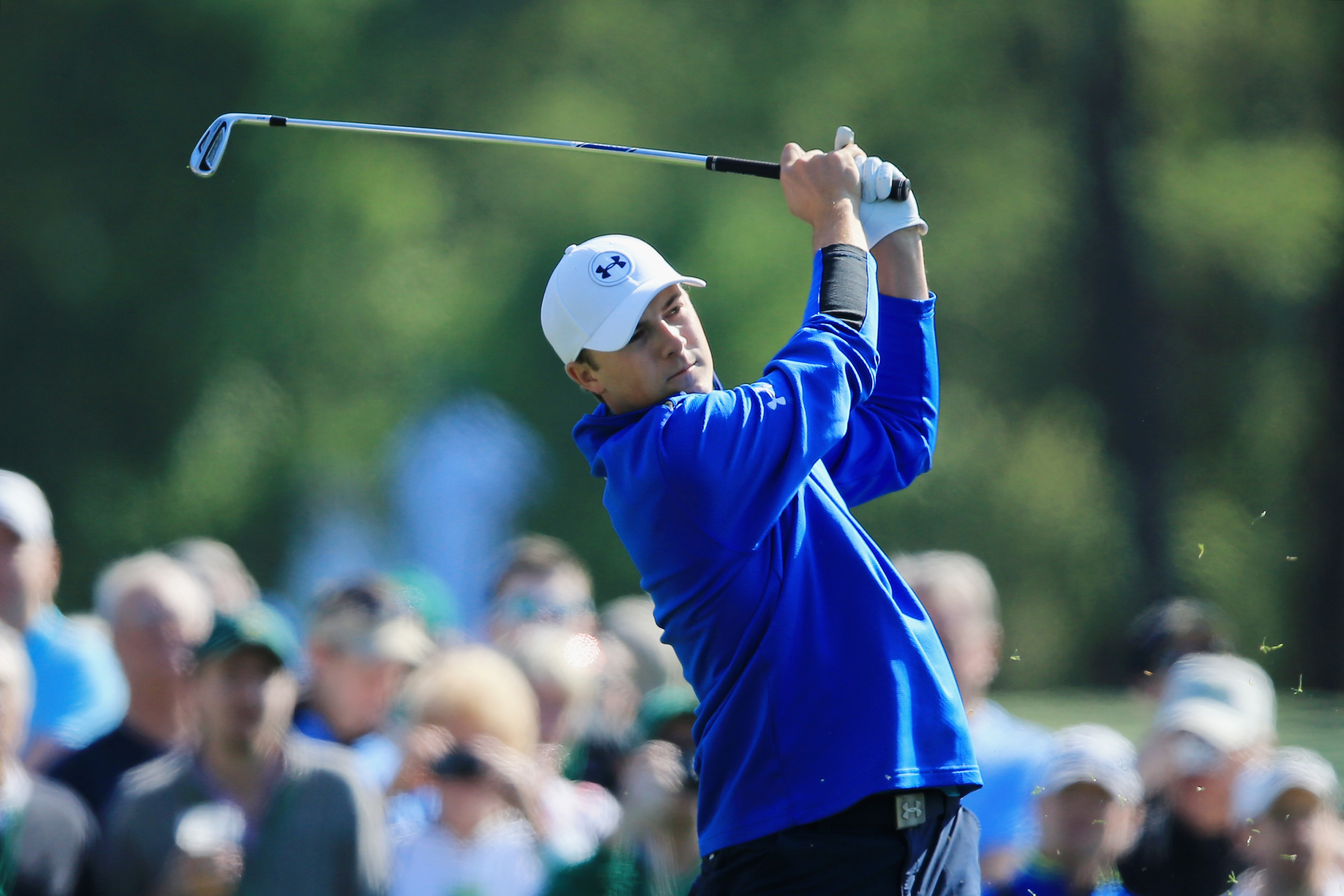 Jordan Spieth is among a group of potential first-time winners in the 78th Masters, which begins today at Augusta National.