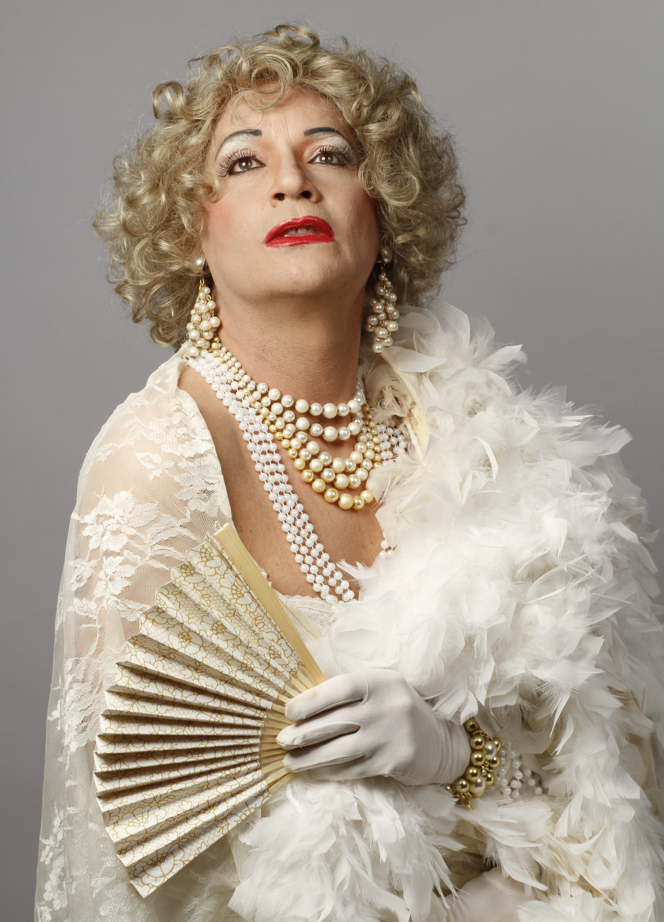 """Jimmy Janowski plays Blanch DuBois in Buffalo United Artists' production of """"Blanche Survives Katrina in a Fema Trailer Named Desire"""" opens Saturday."""