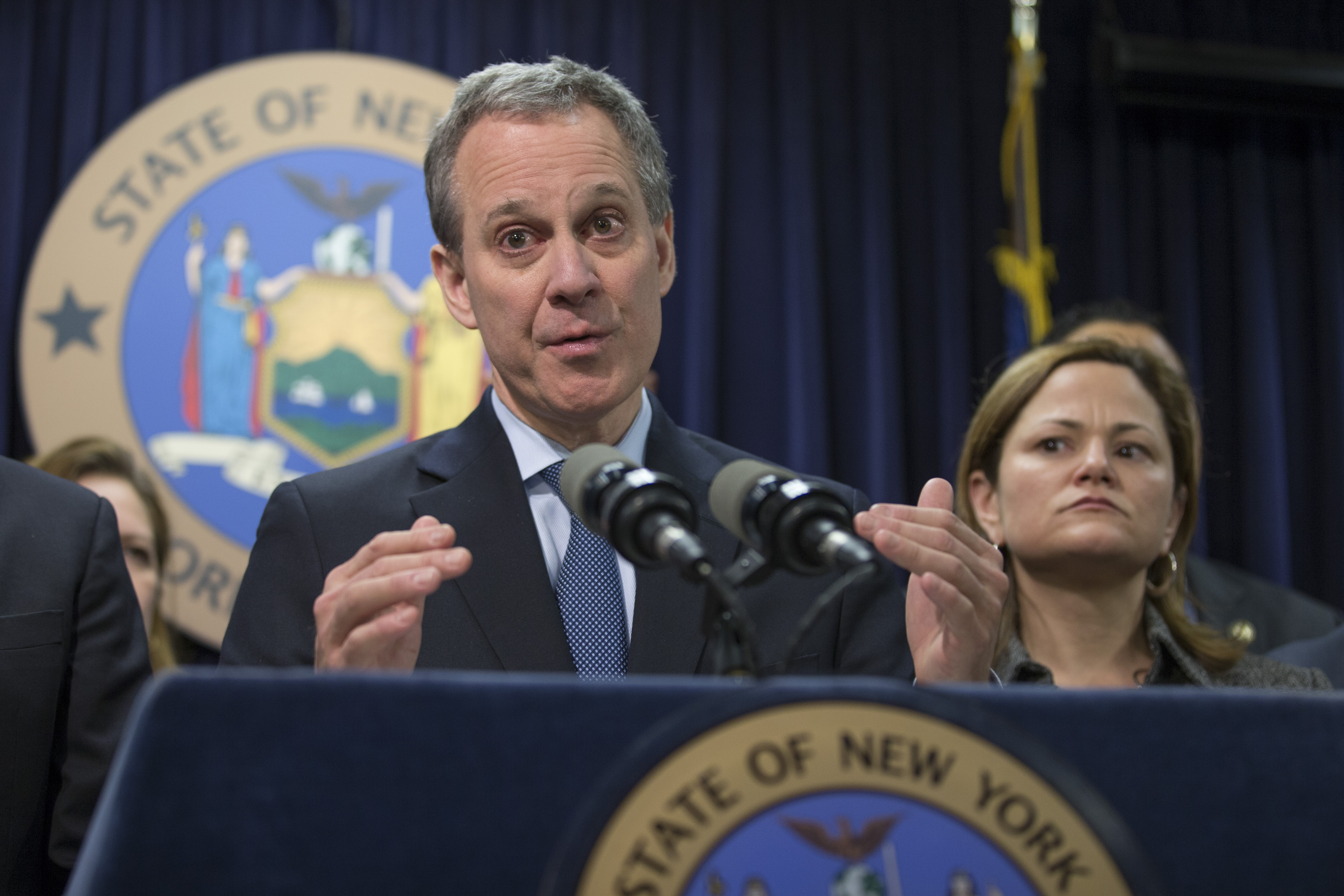 State Attorney General Eric Schneiderman made naloxone more widely available.