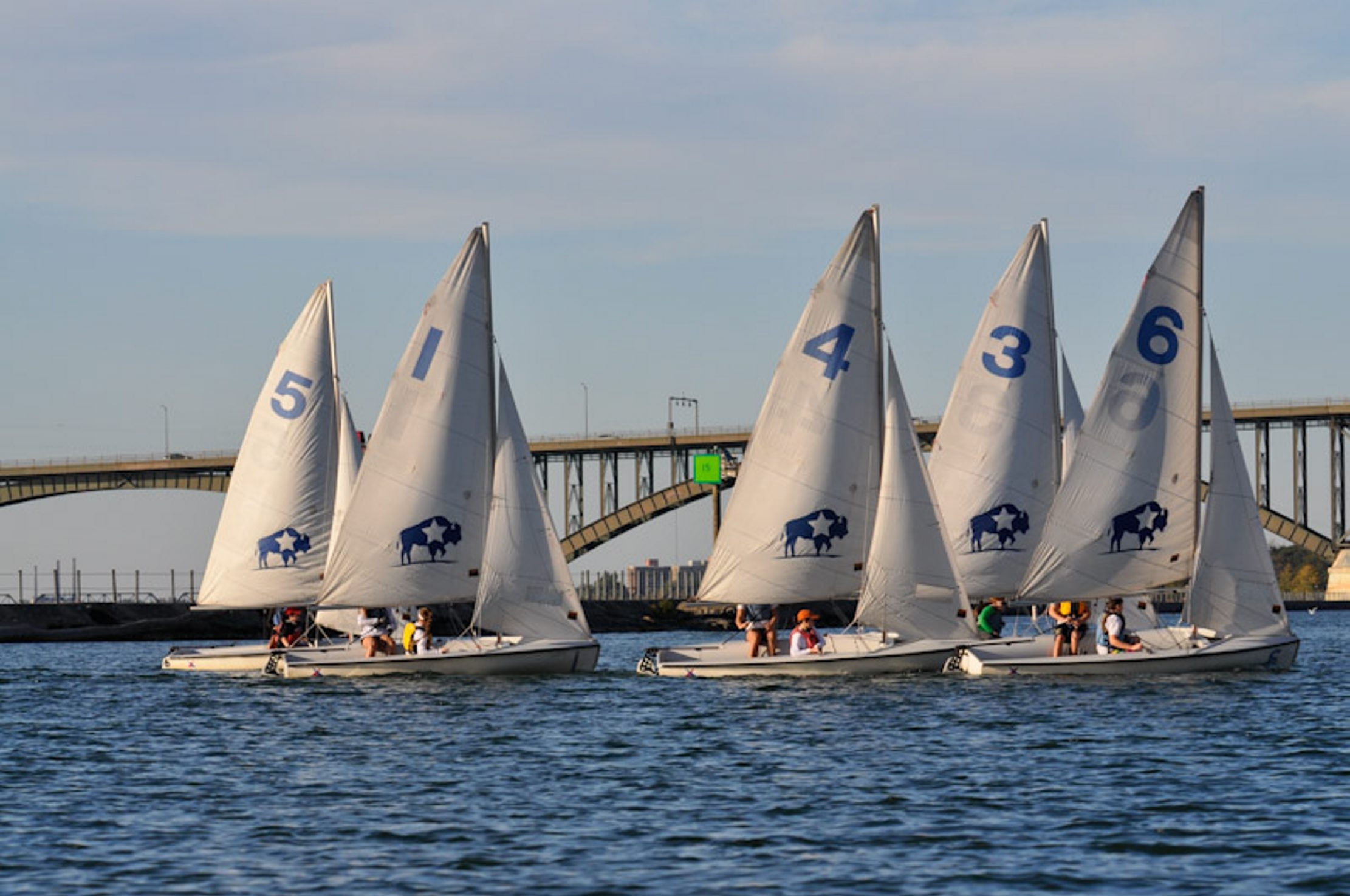 The Buffalo Yacht Club offers sailing programs for area high schoolers.