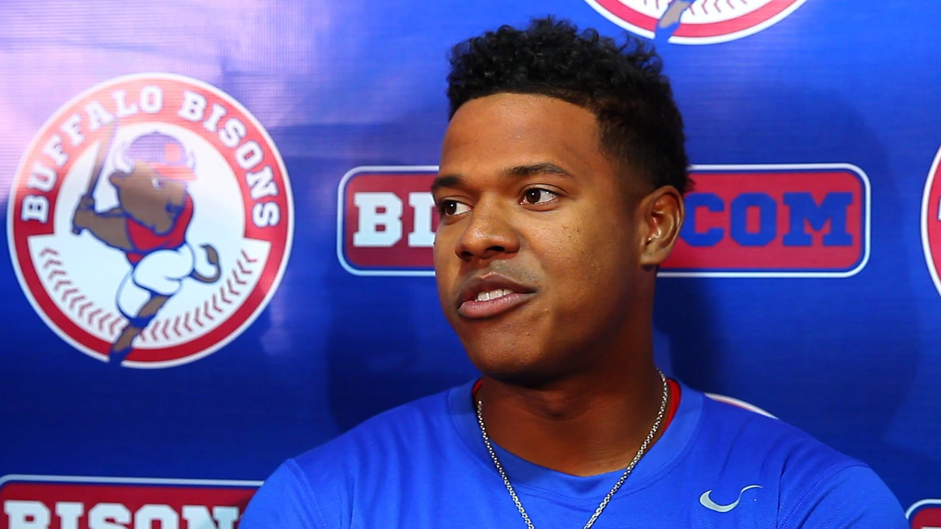 """Bisons' Opening Day pitcher Marcus Stroman, in only his second professional season, is """"very advanced for his age and experience."""""""