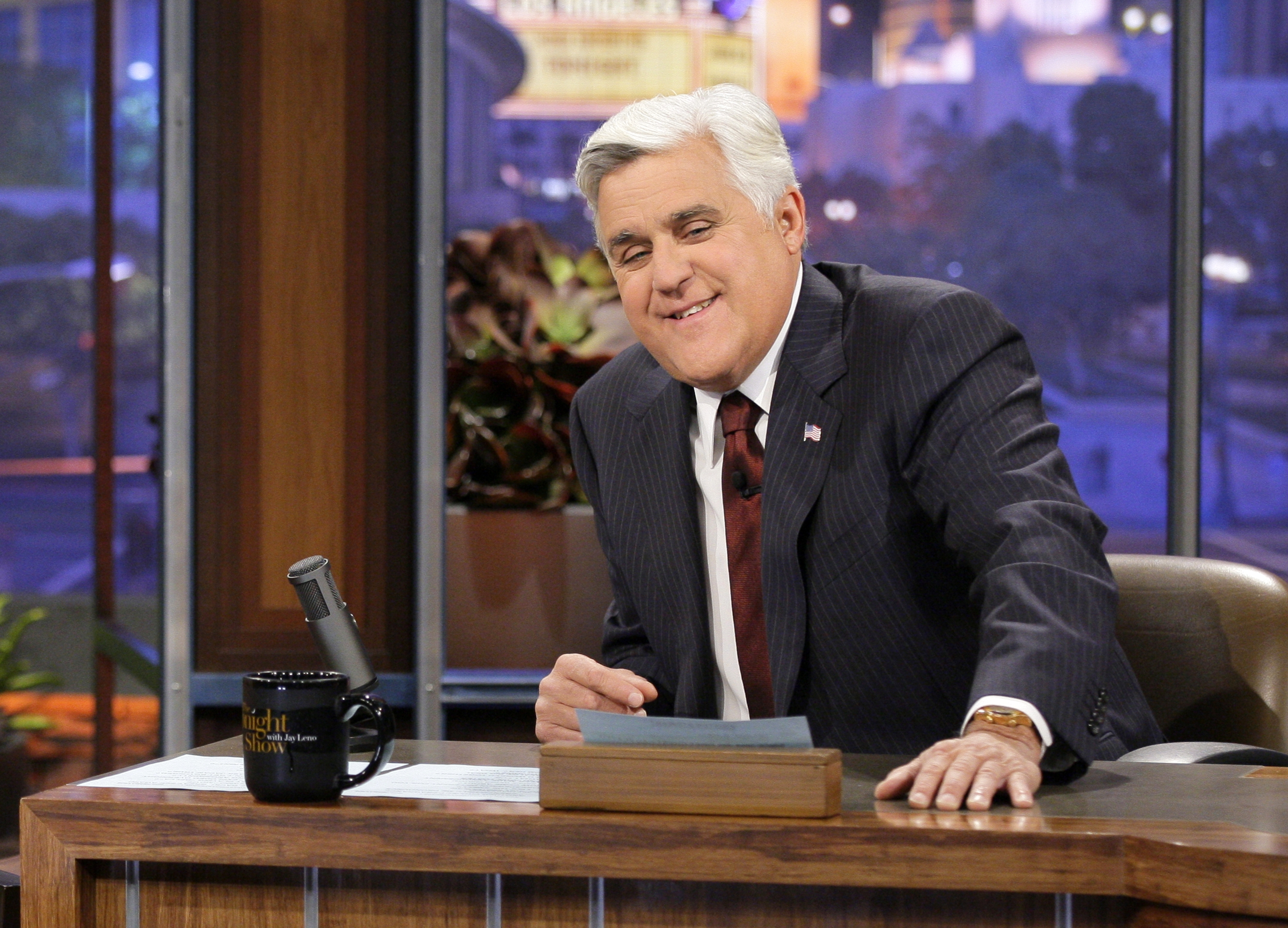 "Jay Leno spent 22 years as host of ""The Tonight Show."""