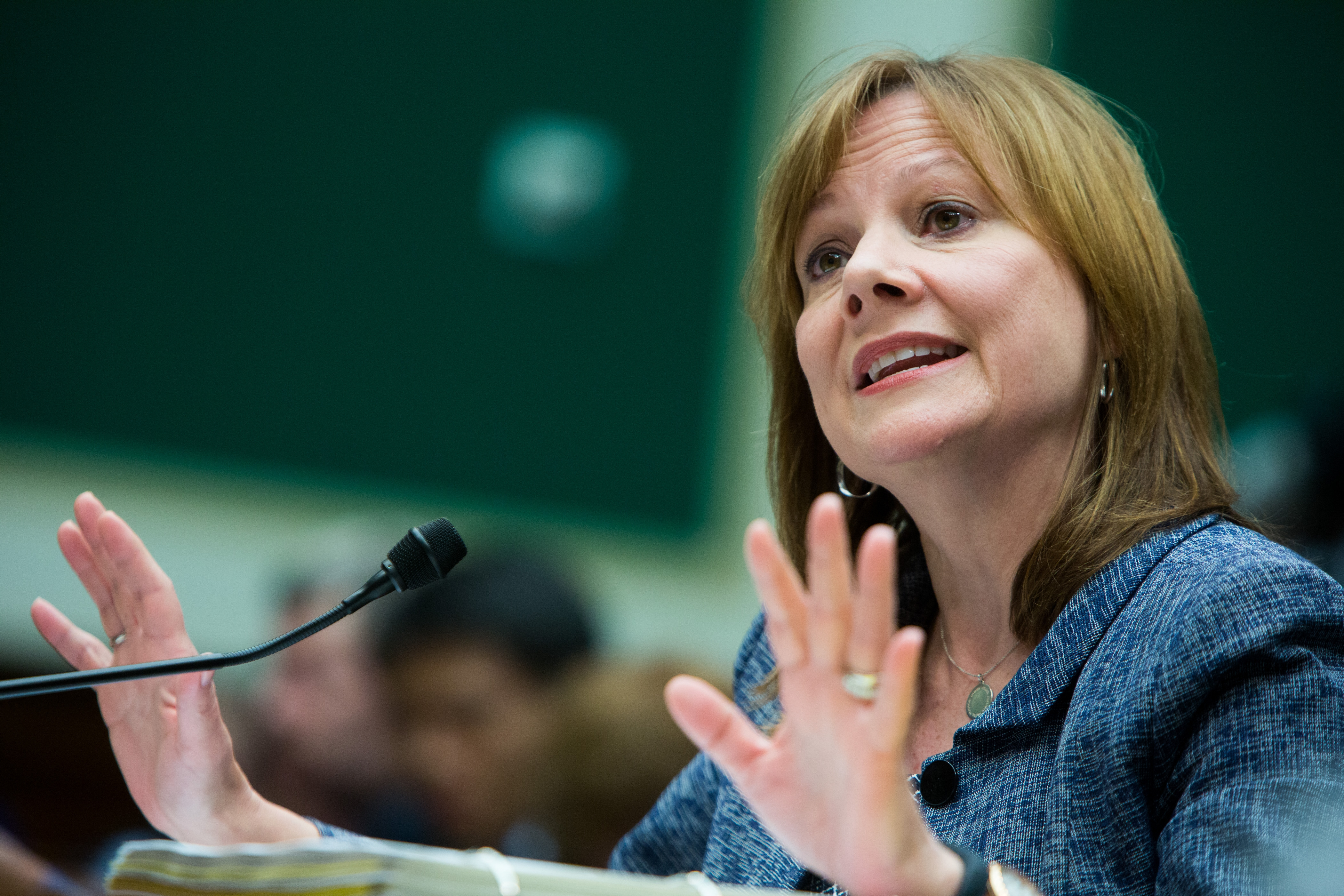 General Motors CEO Mary Barra said the internal investigation as to why GM repeatedly failed to fix faulty ignition switches is ongoing.