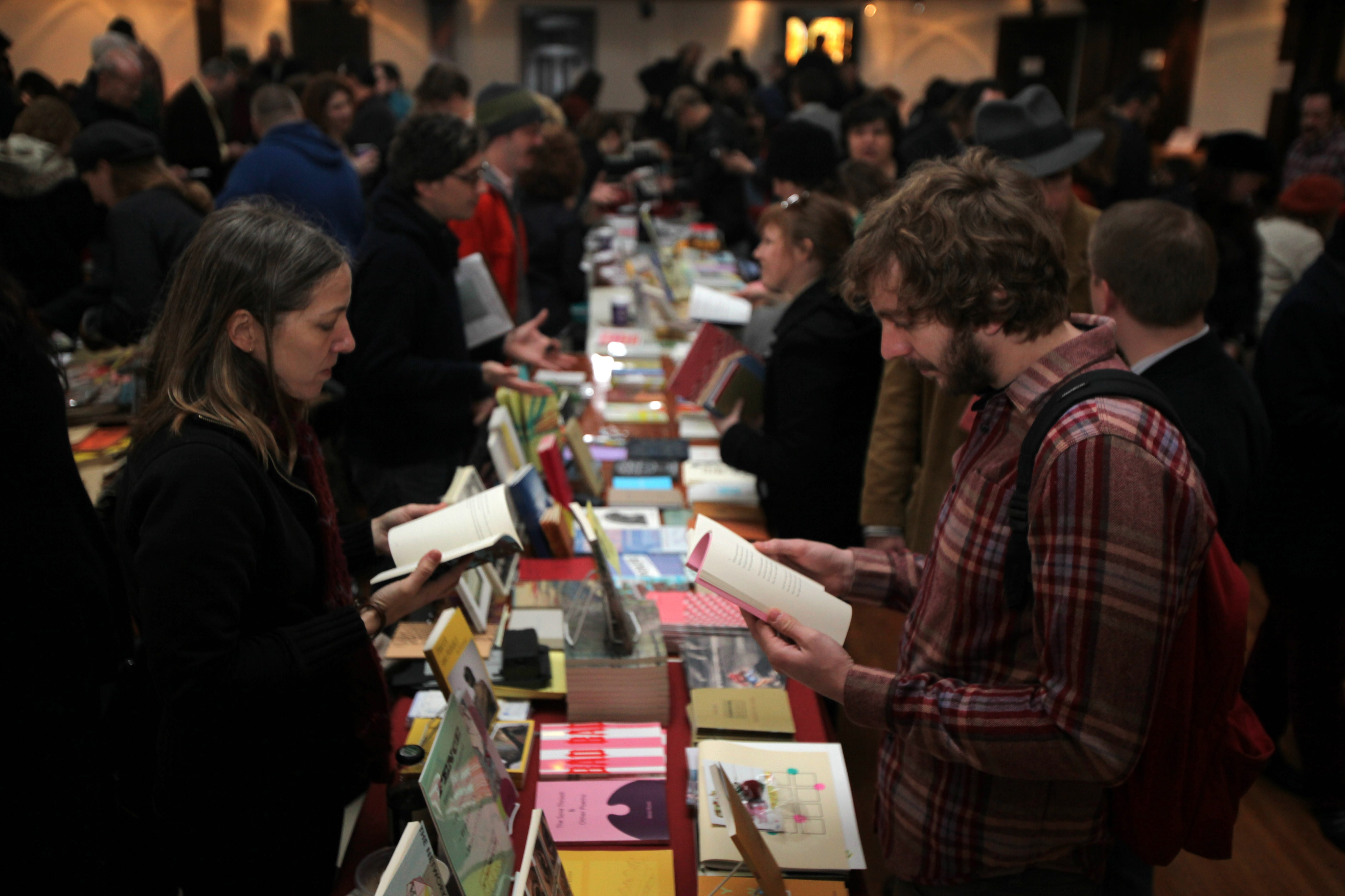 The Small Press Book Fair returns for its eighth year.