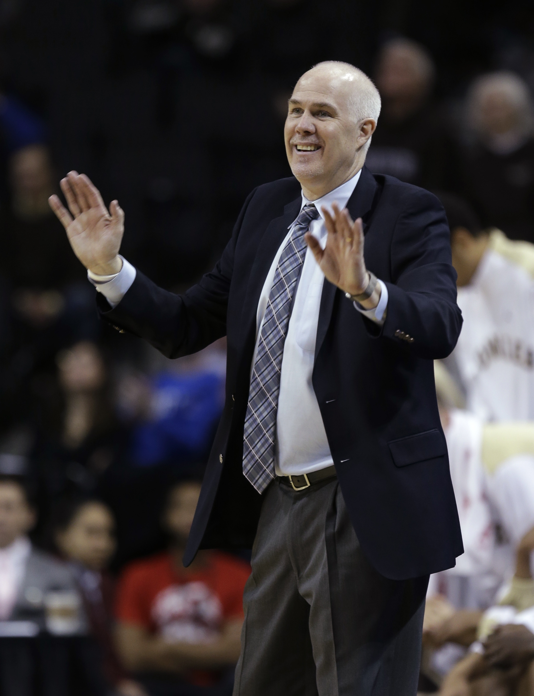 Mark Schmidt is staying with St. Bonaventure.