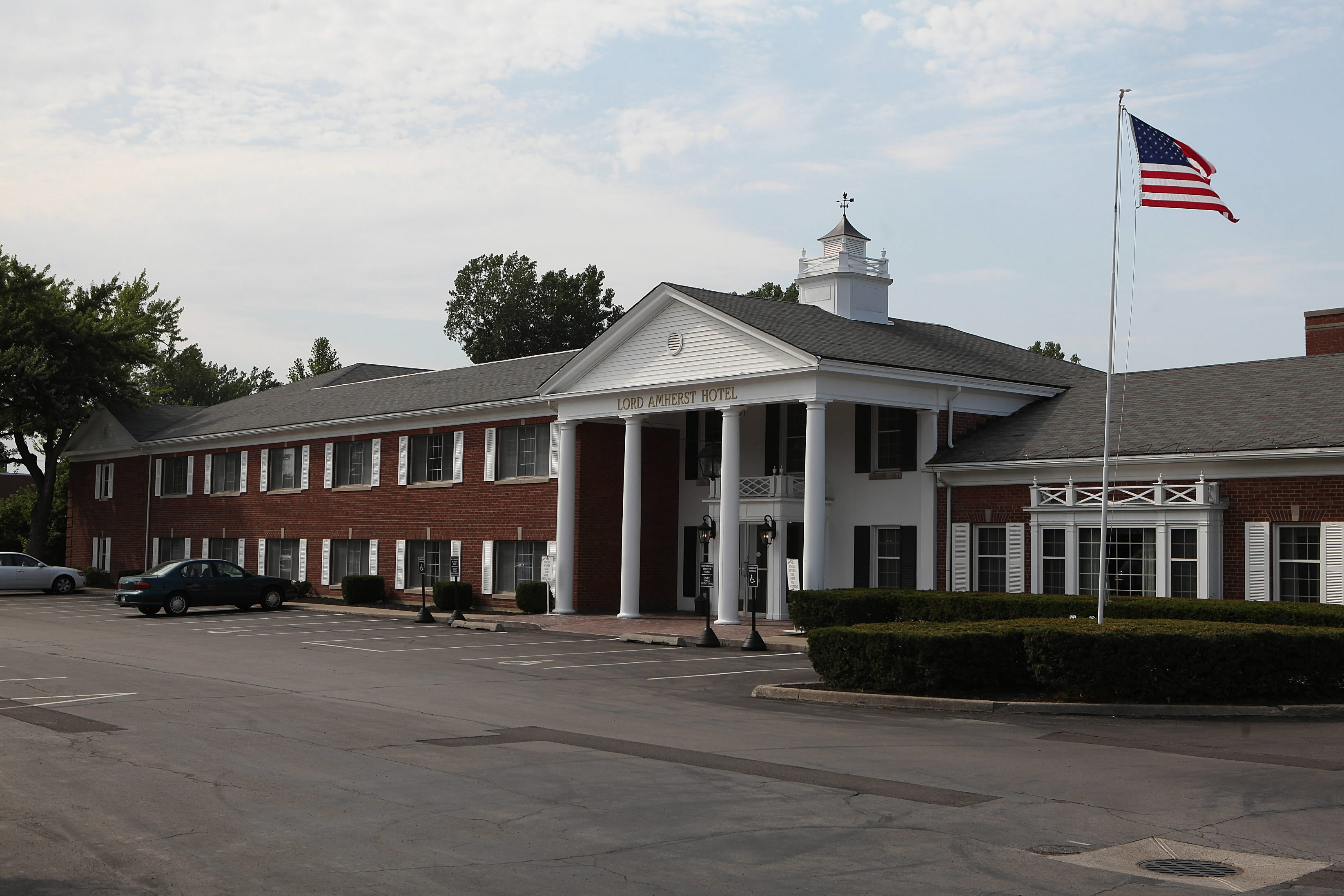 The Lord Amherst Hotel on Main Street in Amherst is closing on April 14 for major renovations.