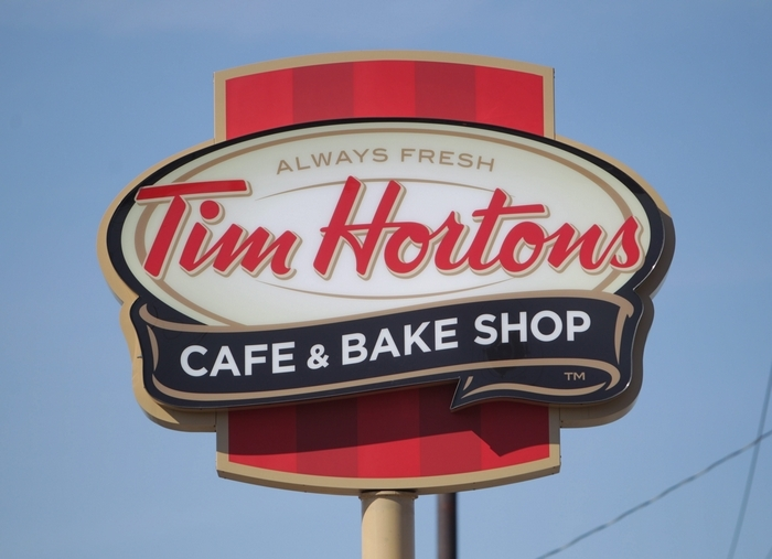 Tim Hortons will have a new home at HarborCenter. (Photo by Sharon Cantillon/Buffalo News)