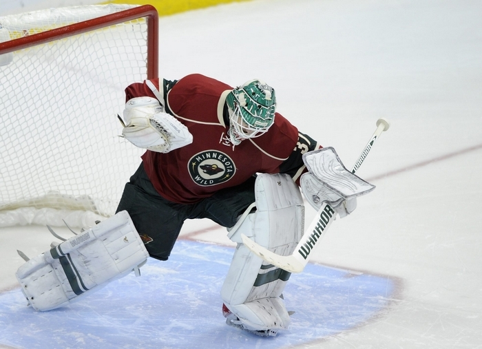Goalie Josh Harding has rejoined the Minnesota Wild after being out since December. (Getty Images)