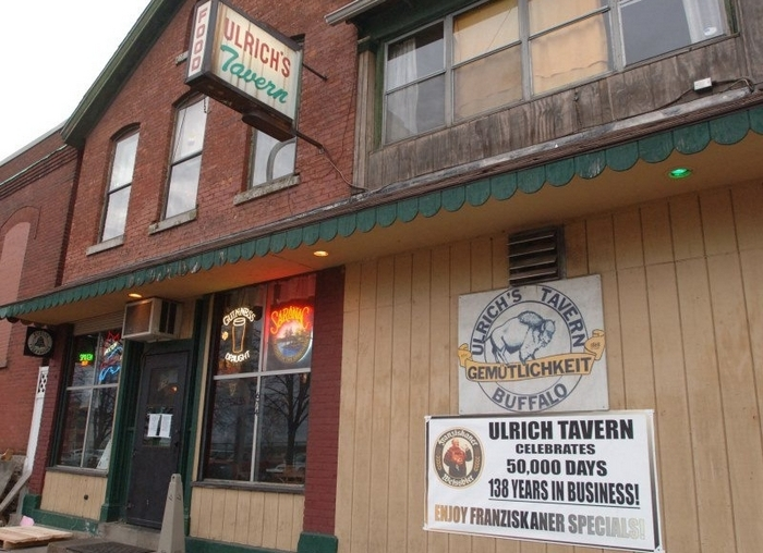Ulrich's Tavern on Ellicott Street is undergoing extensive repairs. (Buffalo News file photo)