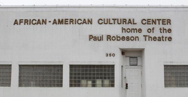Paul Robeson Theatre at 350 Masten Ave in Buffalo,  Thursday, April 3, 2014.  (Sharon Cantillon/Buffalo News)