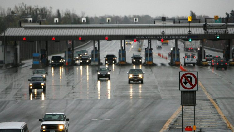 Toll booths, traffic volume, emergencies and weather may still slow down your Thanksgiving travel, but construction-related lane closures won't after Gov. Andrew M. Cuomo ordered them suspended for five days to ease travel. (Derek Gee/Buffalo News file photo)
