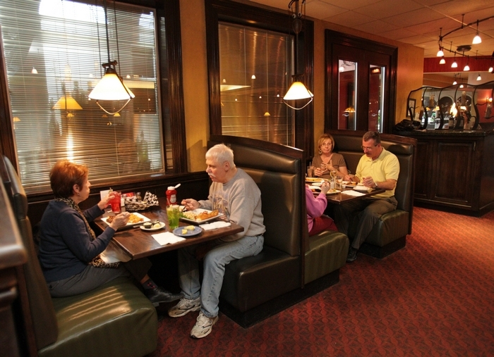 The Forestview Restaurant on Transit Road in Depew is open 24 hours and offers a variety of food choices for hungry diners. (Sharon Cantillon/Buffalo News)