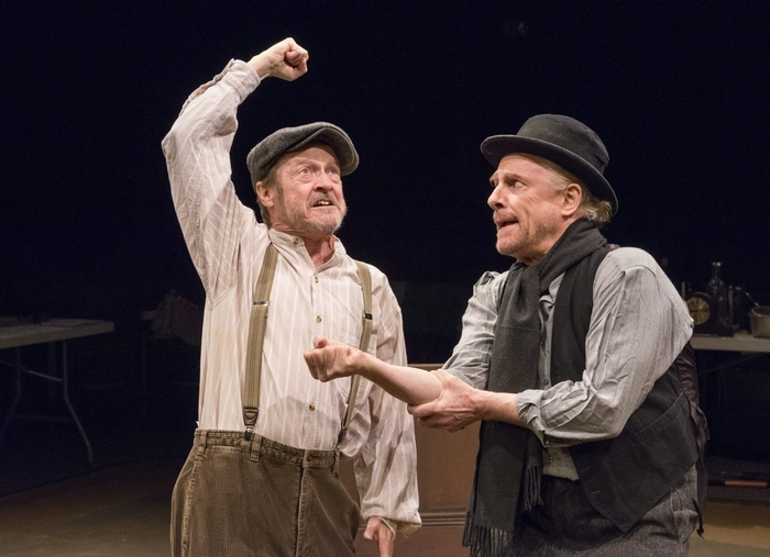 "Gerry Maher and Vincent O'Neill star in ""The Plough and the Stars."""