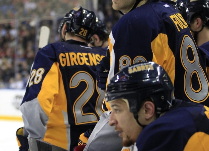 Sabres' Marcus Foligno knows he has to consistently play at a high level to get ice time. (Harry Scull Jr./Buffalo News)