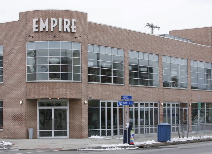 Empire Grill on Hertel Avenue. (Derek Gee / Buffalo News)