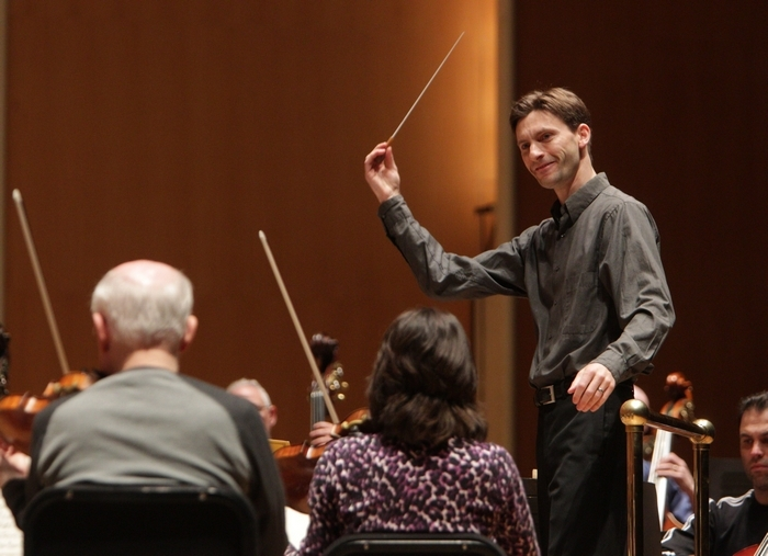 "Benjamin Rous will conduct the season's last ""Know the Score"" concert tonight with the BPO. (Sharon Cantillon/Buffalo News)"