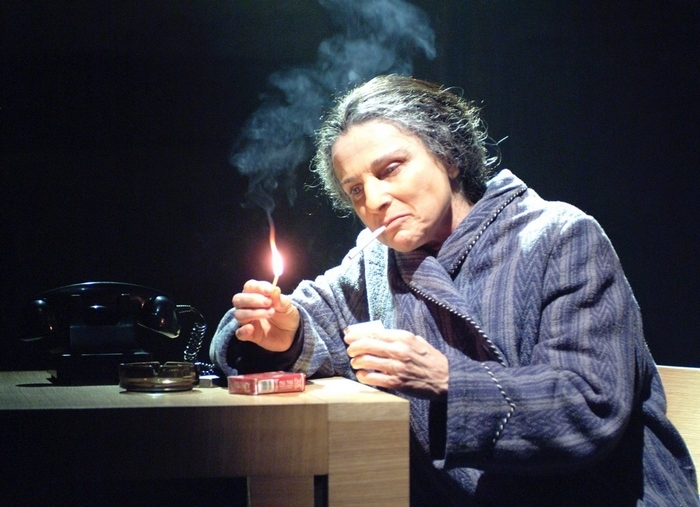 "Tovah Feldshuh is extraordinary in ""Golda's Balcony"" at the 710 Main Theatre."