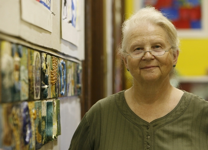 Molly Bethel will receive a lifetime achievement award from the Arts Services Initiative. (Sharon Cantillon/Buffalo News file photo)