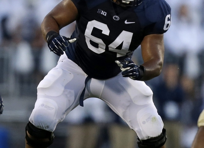John Urschel, an All-Big Ten star at Penn State, could become the second Canisius player drafted, post merger. (Associated Press)