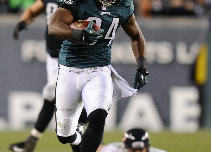 Ex-Eagle Bryce Brown is known as a hard runner. (Getty Images)