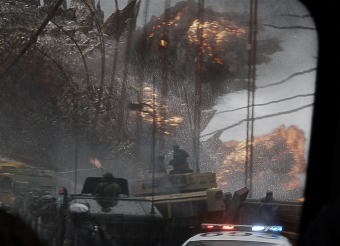"""A scene from Warner Bros. Pictures' and Legendary Pictures' epic action adventure """"Godzilla."""""""