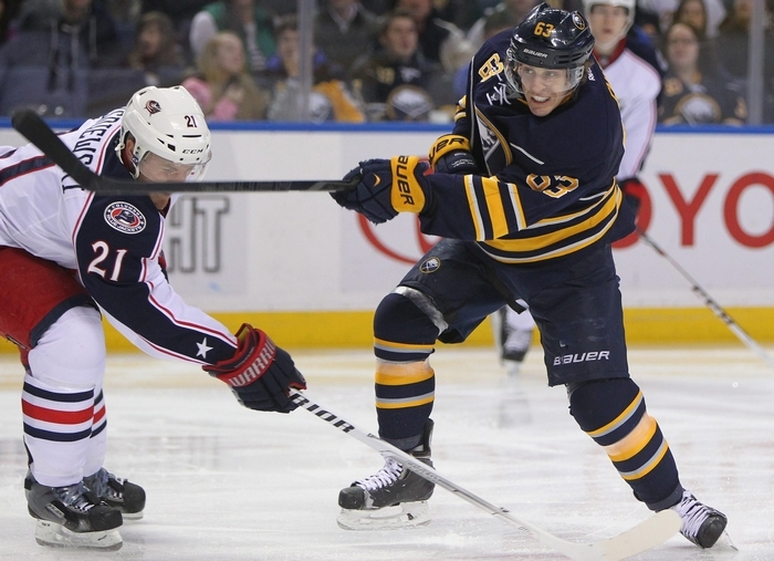 To improve, center Tyler Ennis will need to close some holes in his game, particularly a lackluster record at winning faceoffs.
