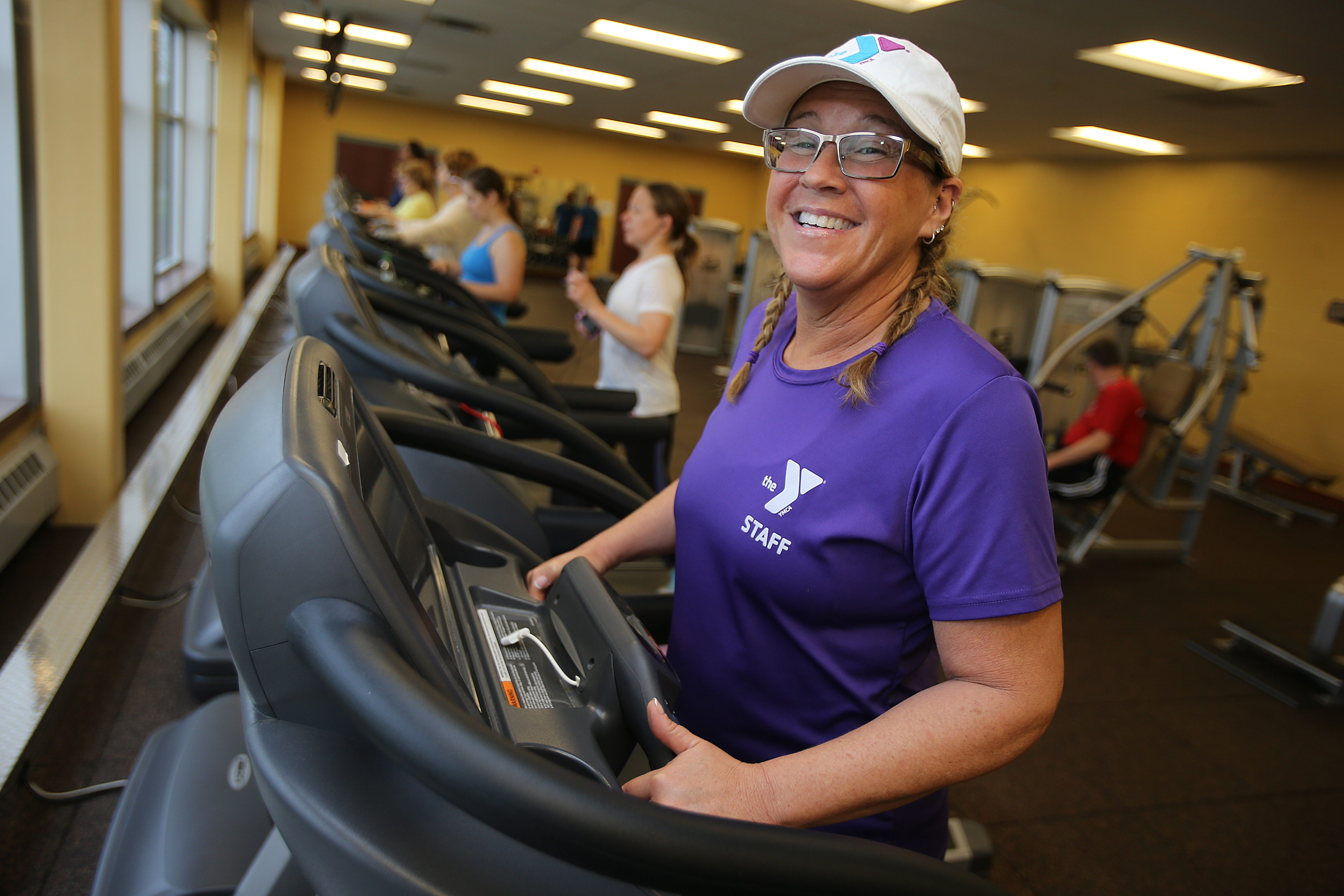 """""""Eighty percent nutrition and 20 percent exercise is where you want to be,"""" said fitness instructor Marilou Owczarczak."""