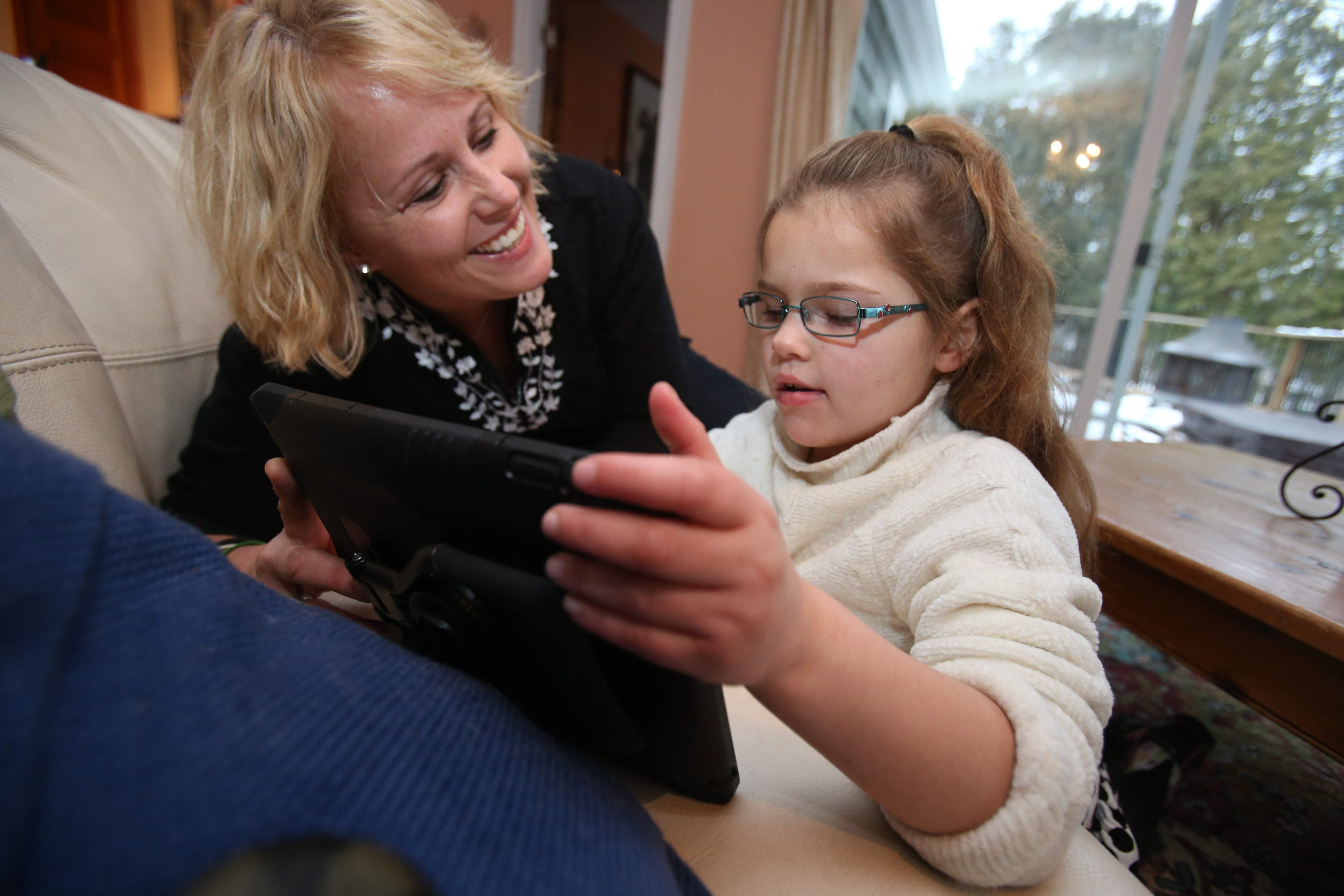 Wendy Conte, of Orchard Park, hopes that a form of medical marijuana will help control the seizures her 8-year-old daughter, Anna, is dealing with. (Buffalo News file photo)