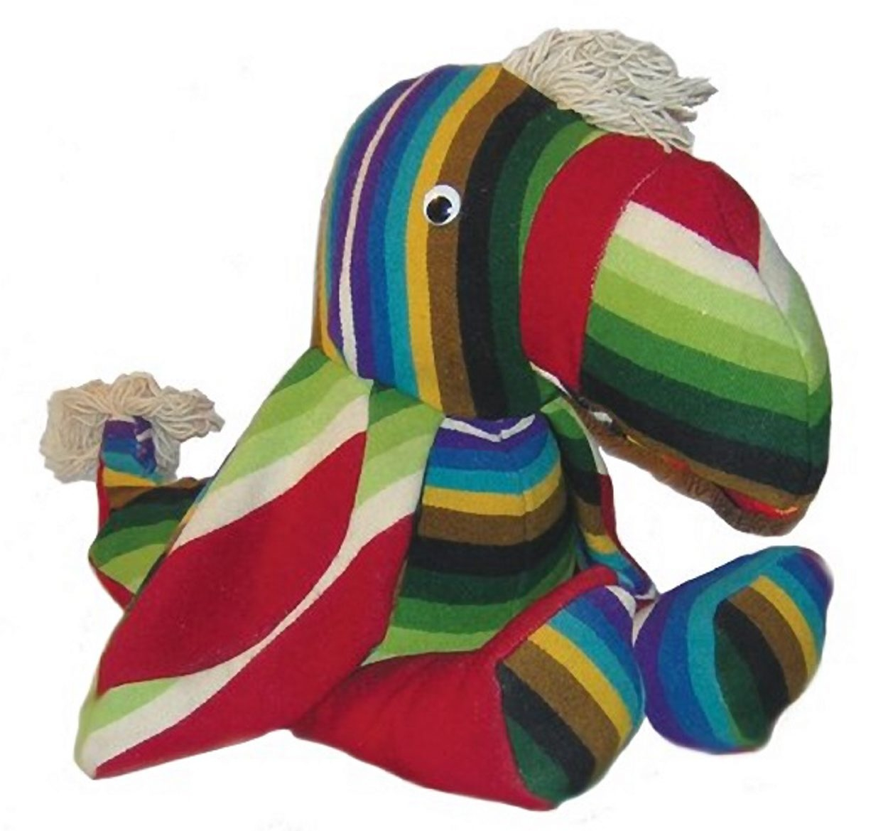 Did the auction bidder want this toy because it was made by an American Indian, or made from a collectible blanket, or just because it was a colorful toy? Whatever the reason, it sold for $115 at an Allard auction last month in Mesa, Ariz.