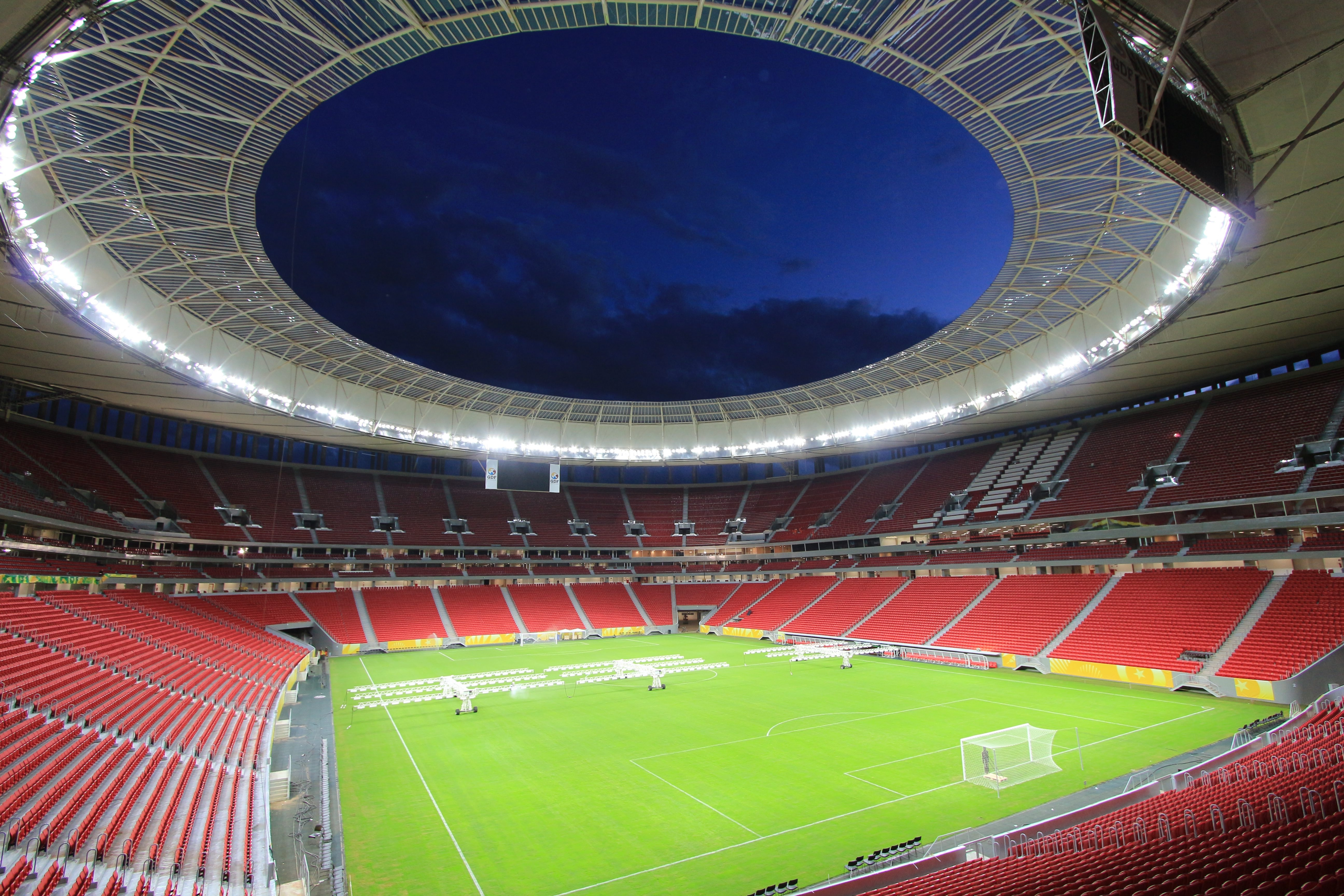 Amherst-based Birdair provided roofs for three stadiums in Brazil that will host a total of 19 matches during the World Cup.