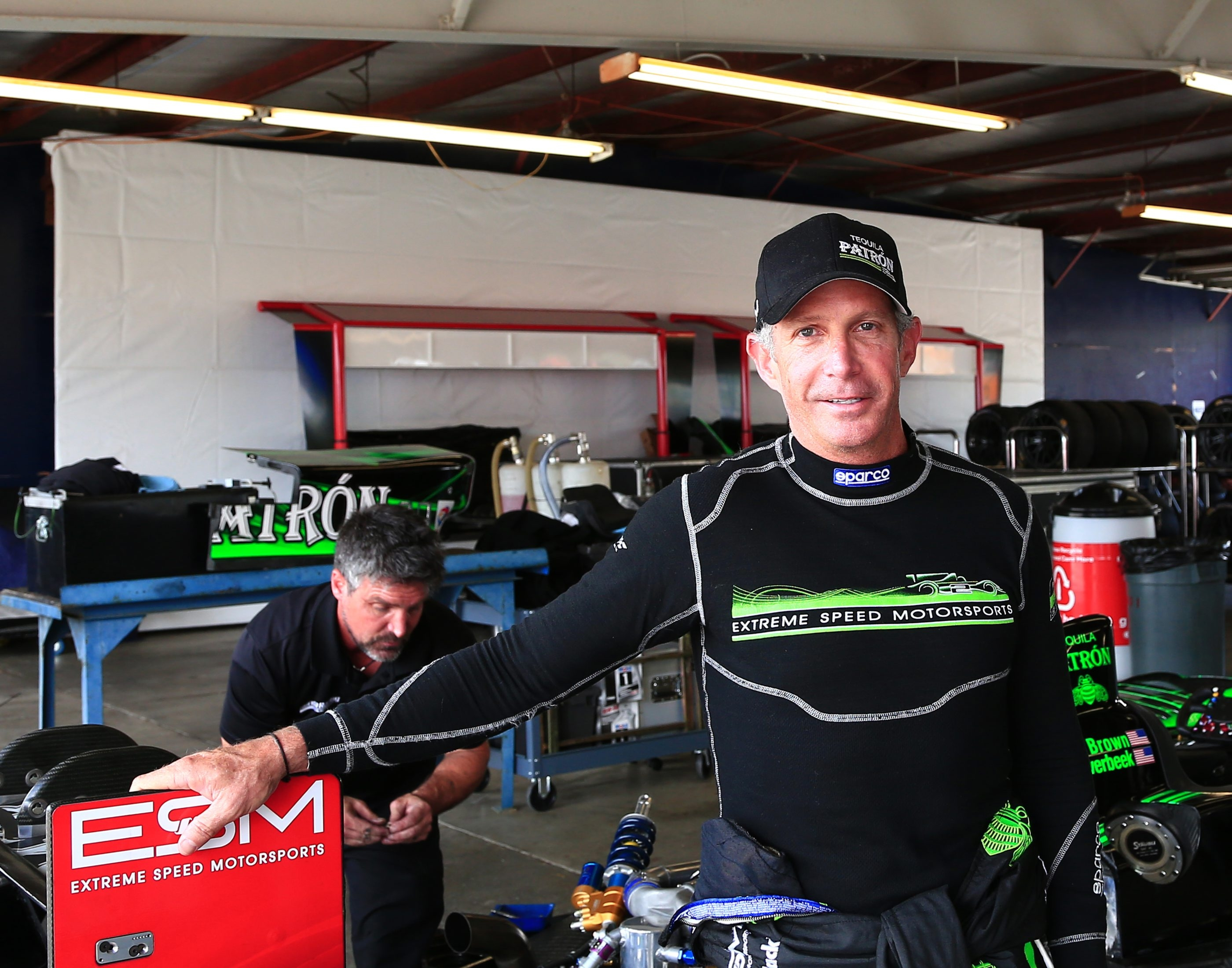 Ed Brown is part of the Extreme Speed Motorsports team.