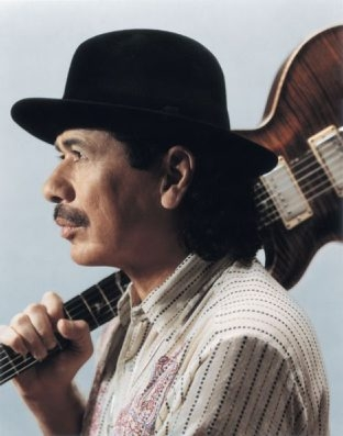 Carlos Santana shares a bill with Rod Stewart on Saturday in the First Niagara Center.