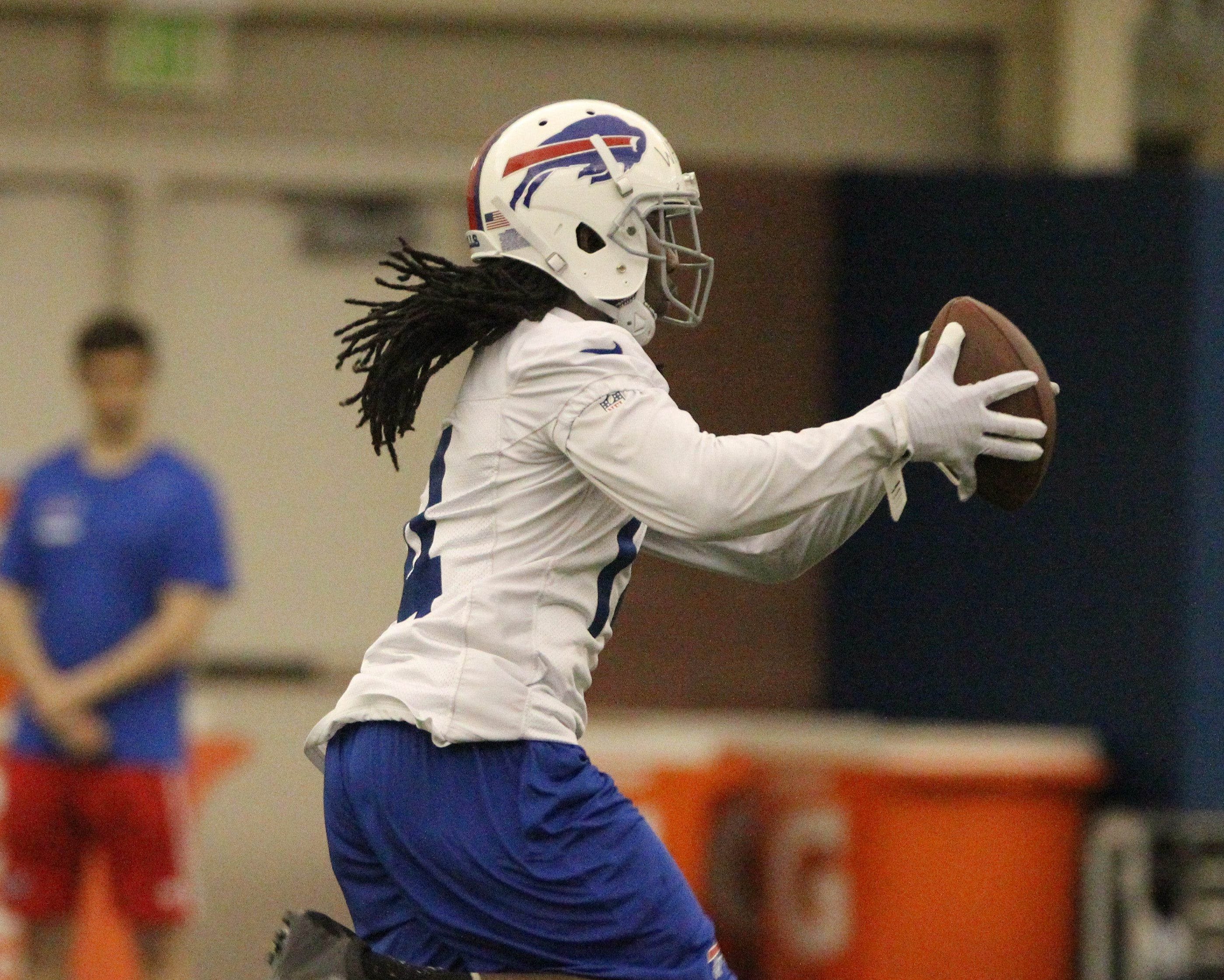 """""""It's definitely a blessing,"""" Sammy Watkins said of signing his rookie contract. """"I've got to move forward and perform now."""""""