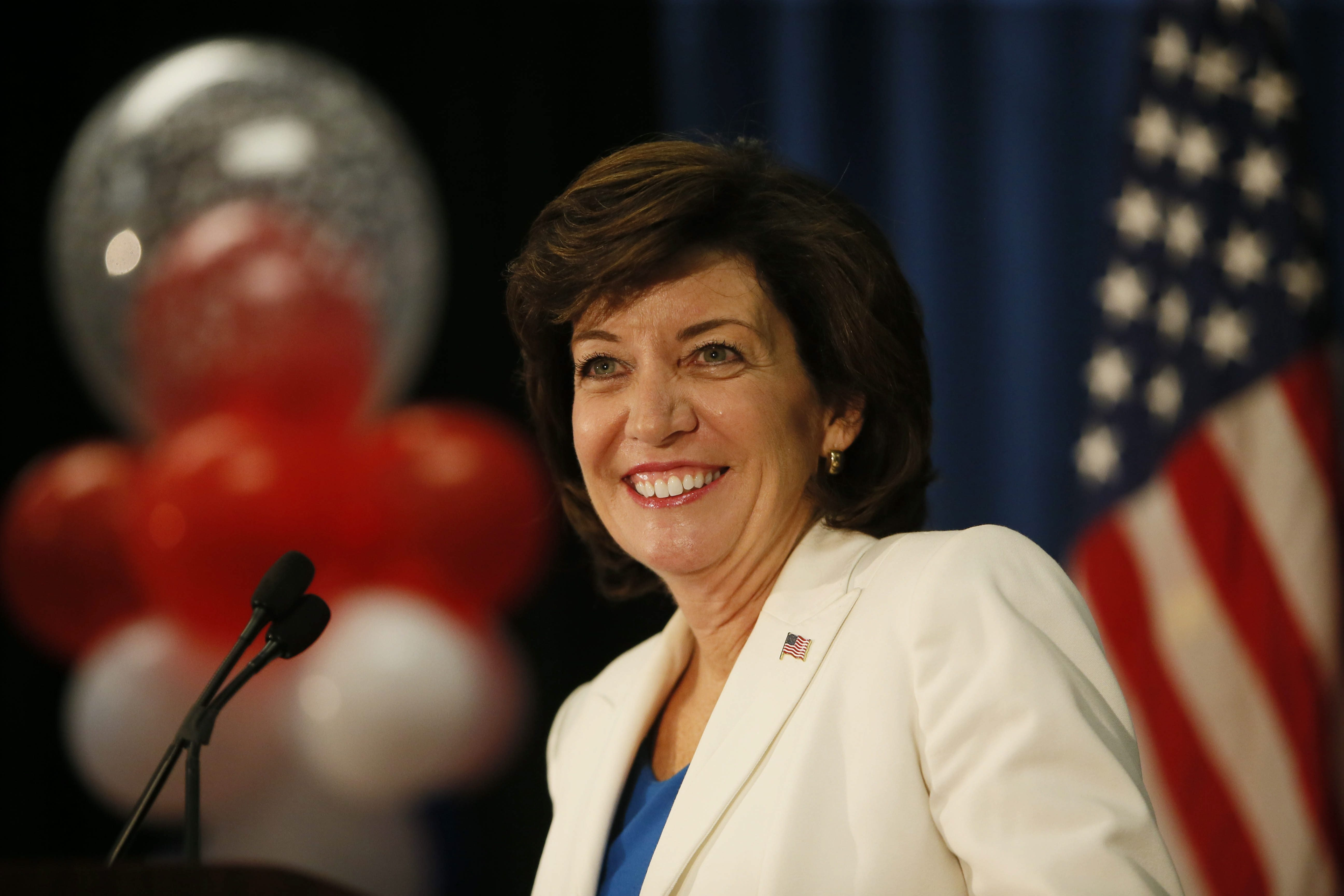 Lt. Gov. candidate Kathy Hochul speaks her mind, but does it with a smile.