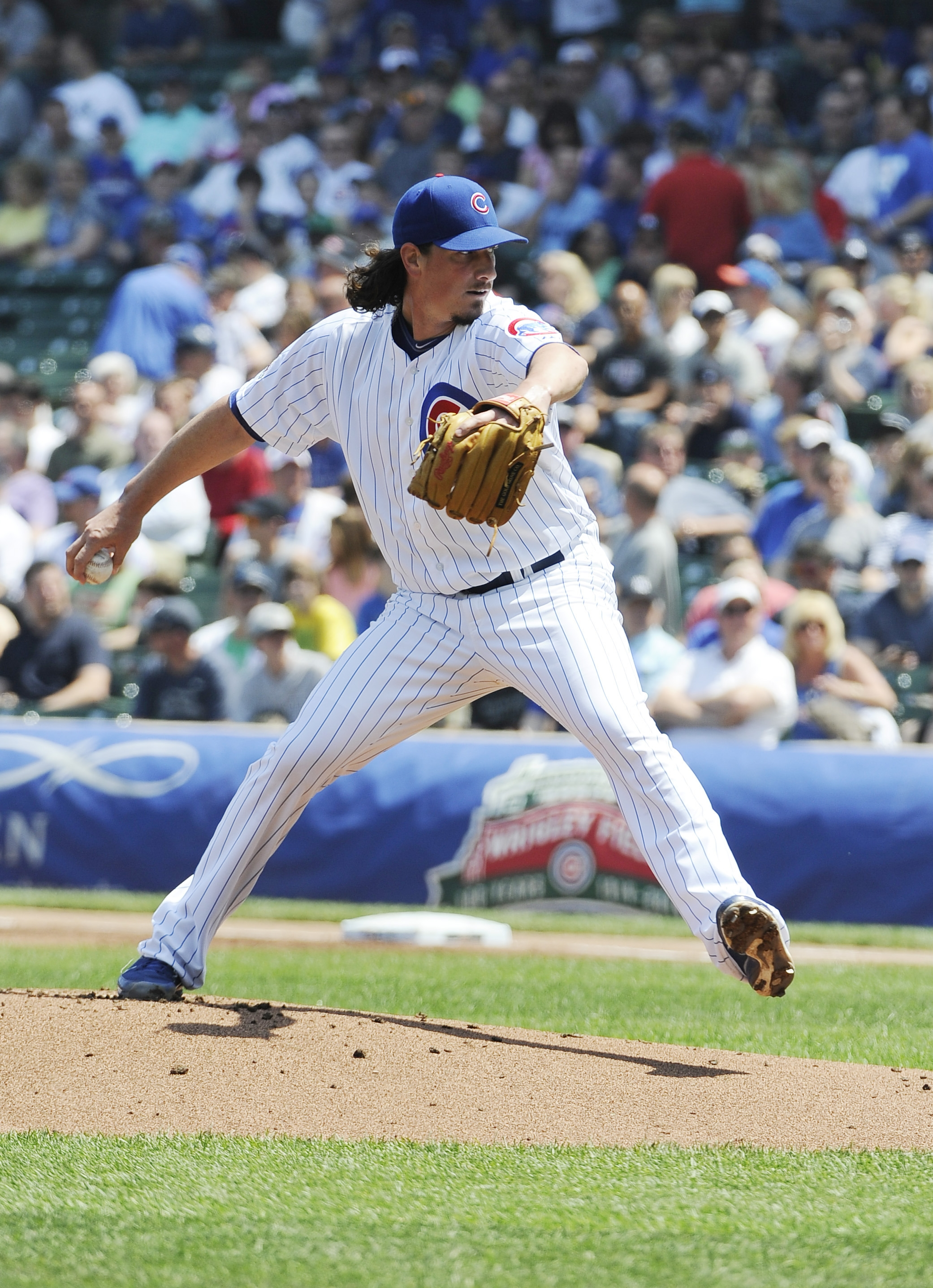 Jeff Samardzija has been one of the best pitchers in baseball this season, but has nothing to show for it.