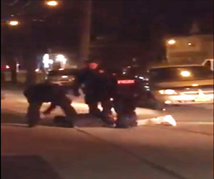 YouTube video shows a Buffalo police officer punching 22-year-old Buffalo resident John T. Willet on April 19, 2014.