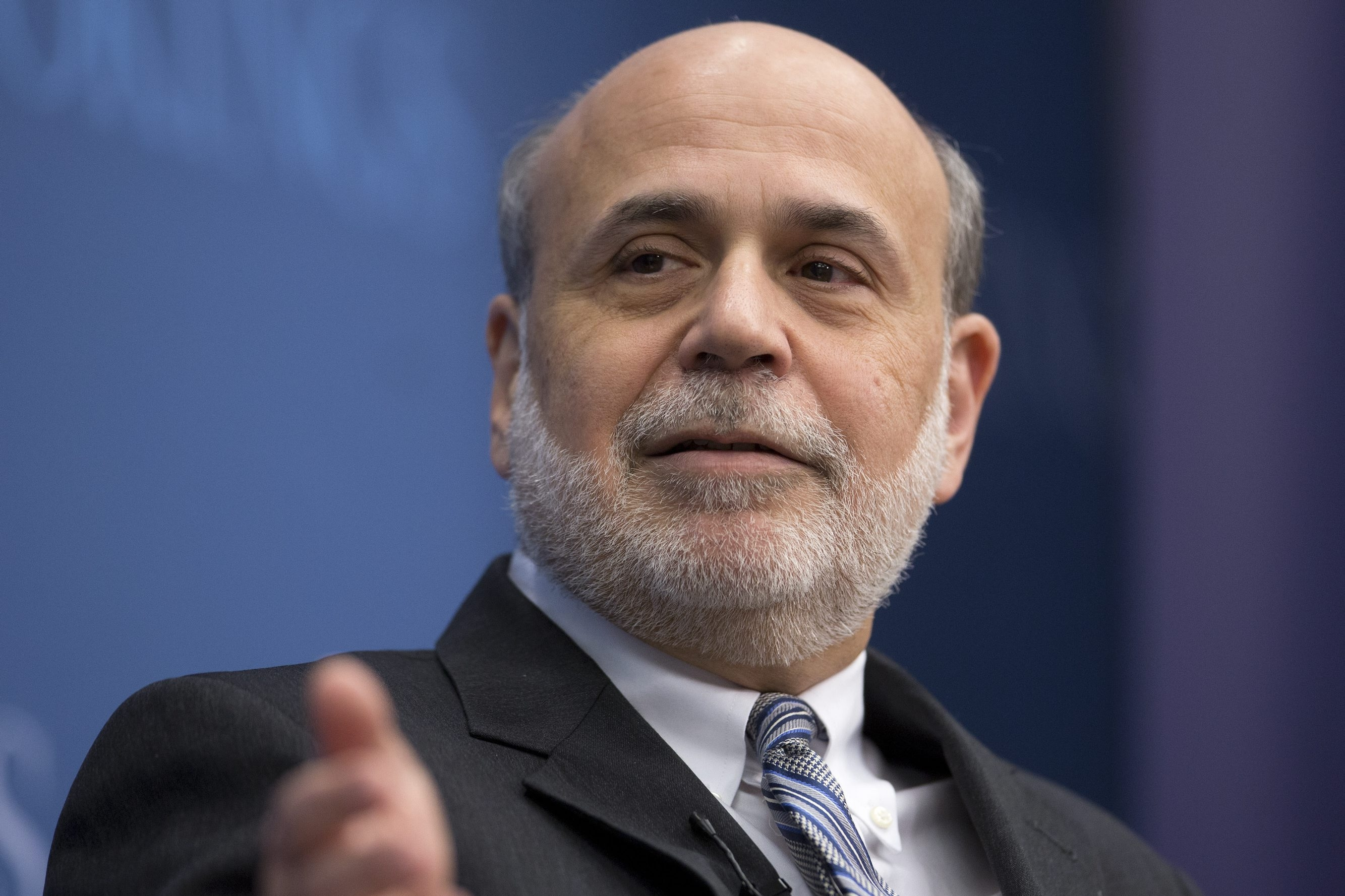 Ben S. Bernanke, former chairman of the U.S. Federal Reserve, is poised to make millions of dollars this year from speaking engagements.
