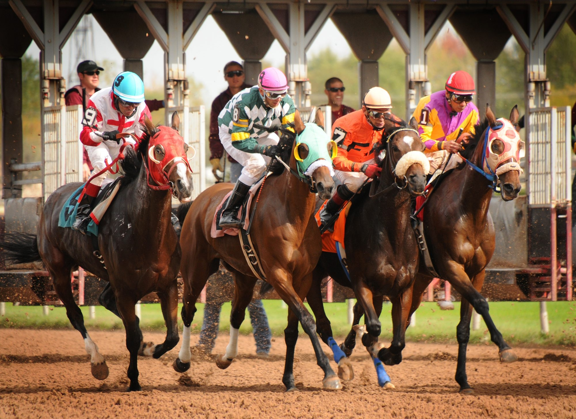 The Finger Lakes Gaming & Racetrack in Farmington offers live racing, slots and restaurants for an action-packed getaway that's not too far from home.