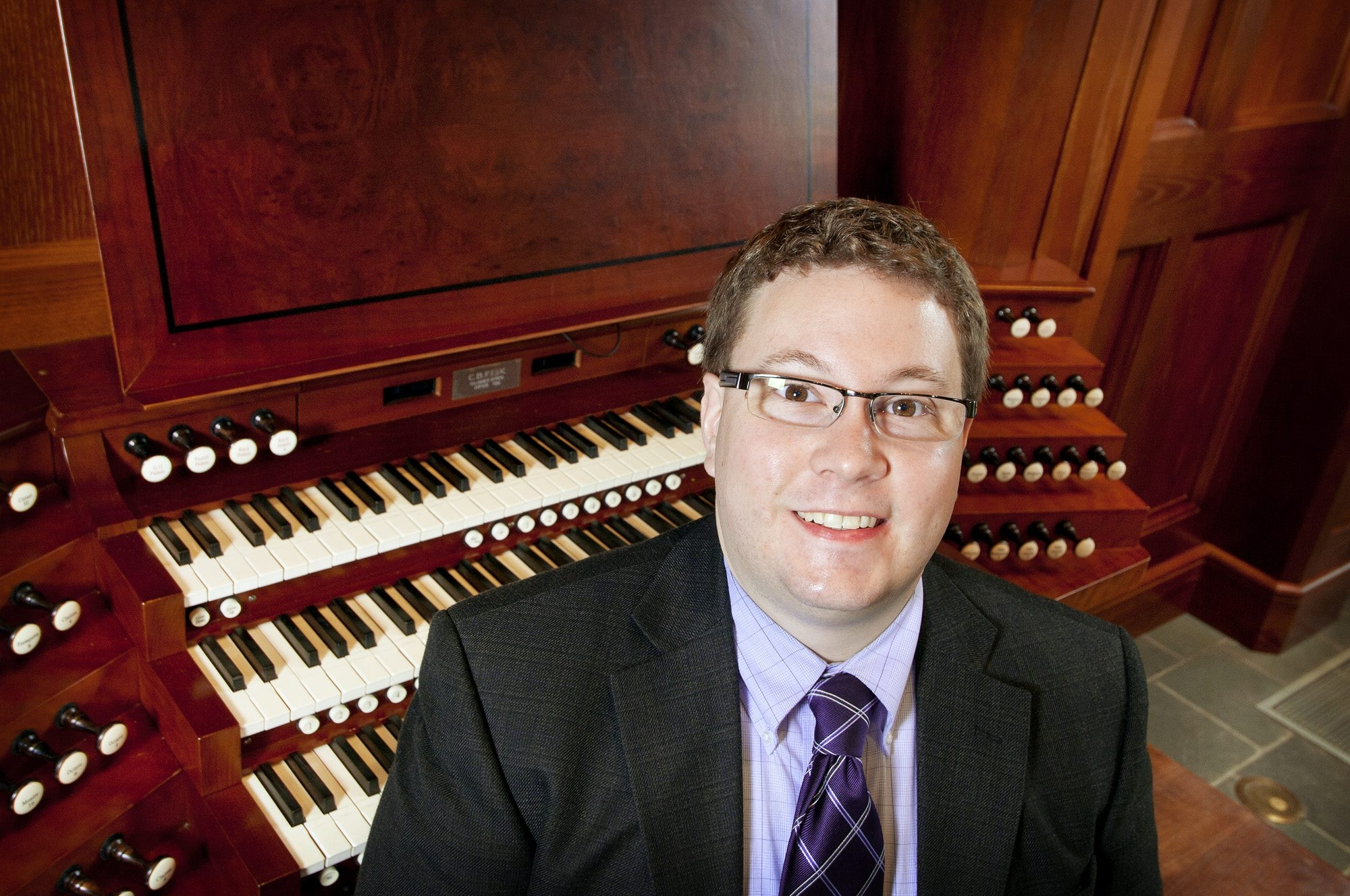 Andrew Scanlon is returning to St. Paul's Cathedral for a free concert.