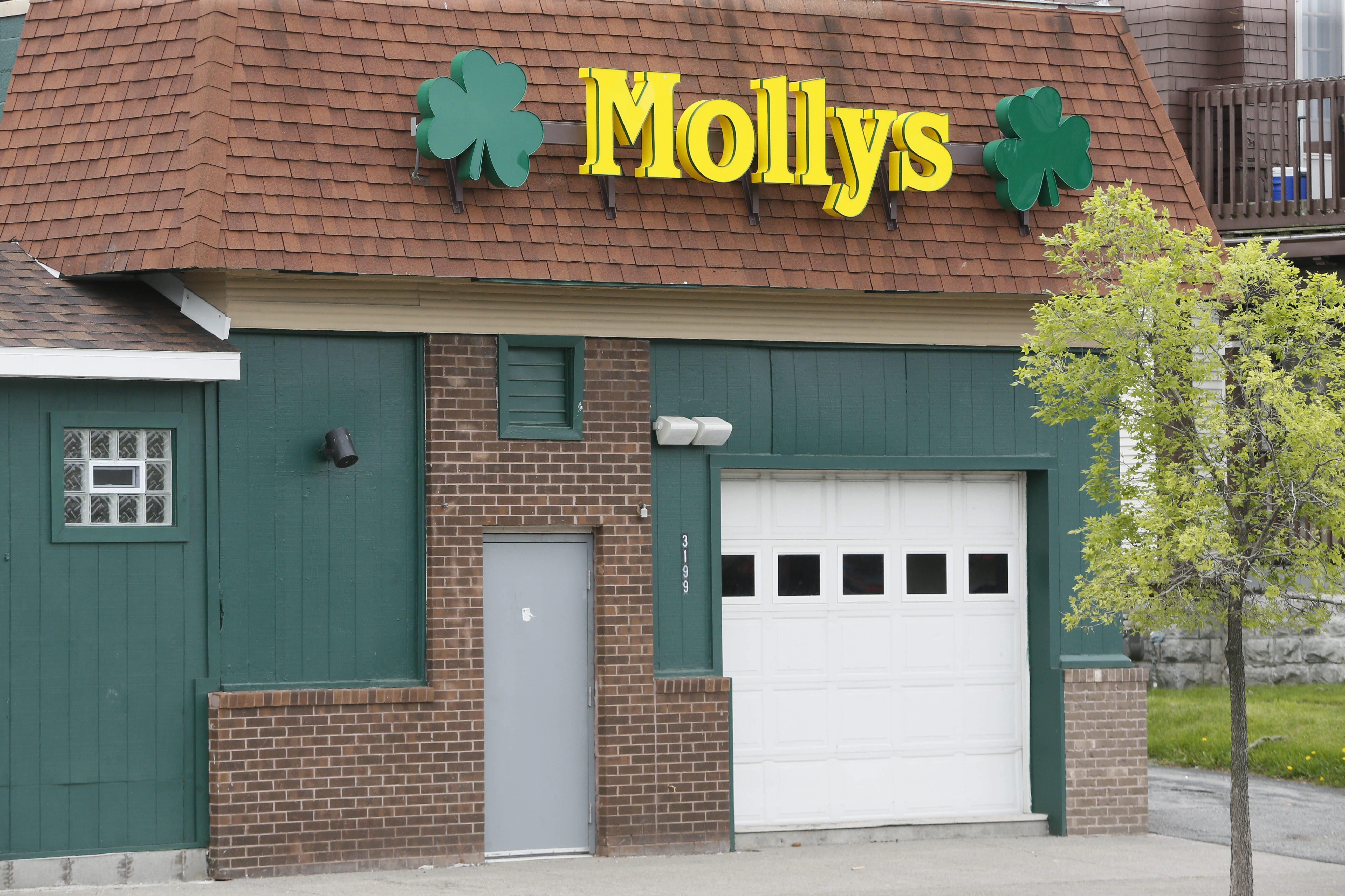 Molly's Pub, 3199 Main St., has been shut by the city since its manager was charged in May 11 assault.